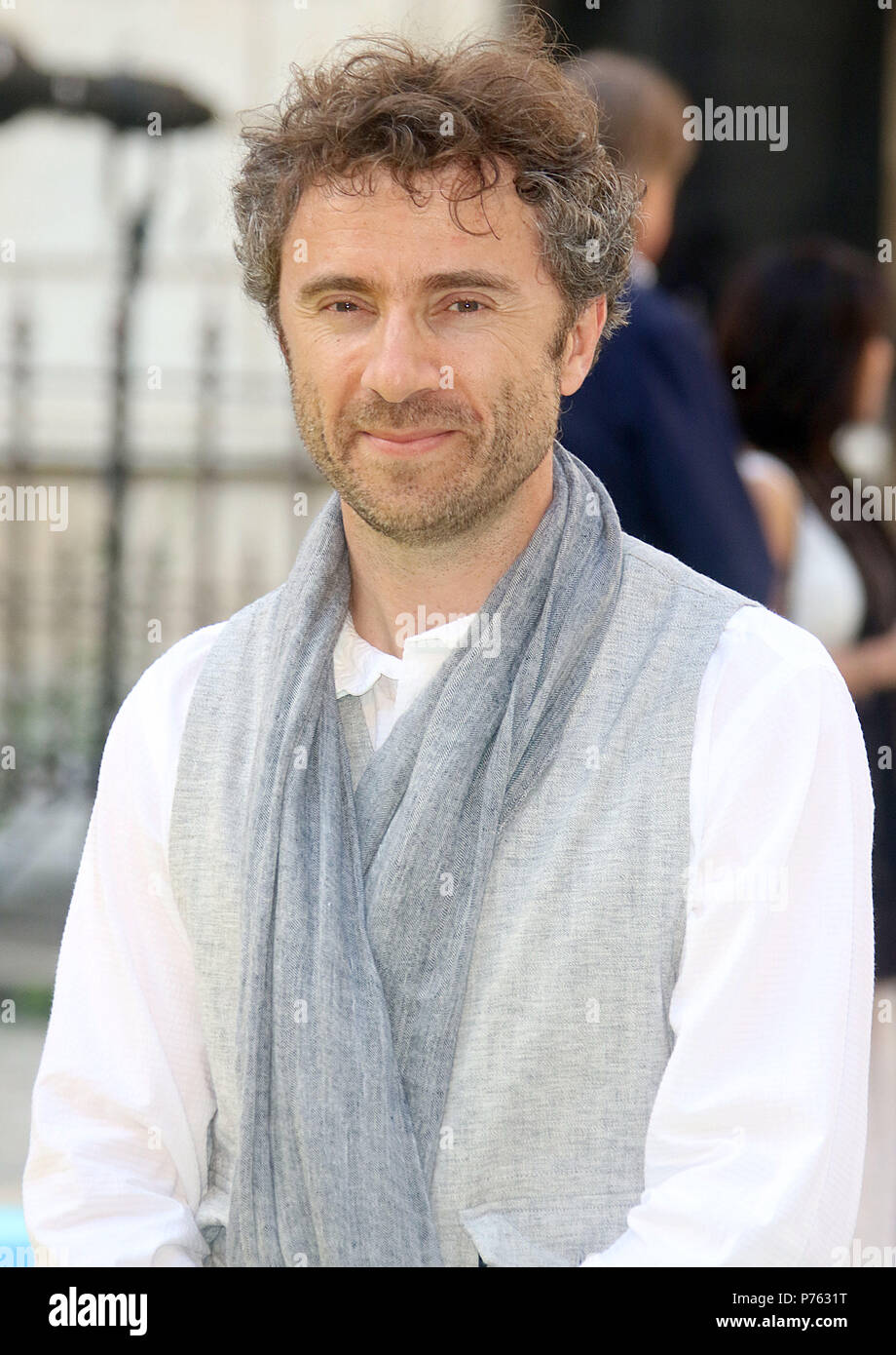 Jun 06, 2018 - Thomas Heatherwick attending Royal Academy Of Arts 250th Summer Exhibition Preview Party at Burlington House in London, England, UK - Stock Image
