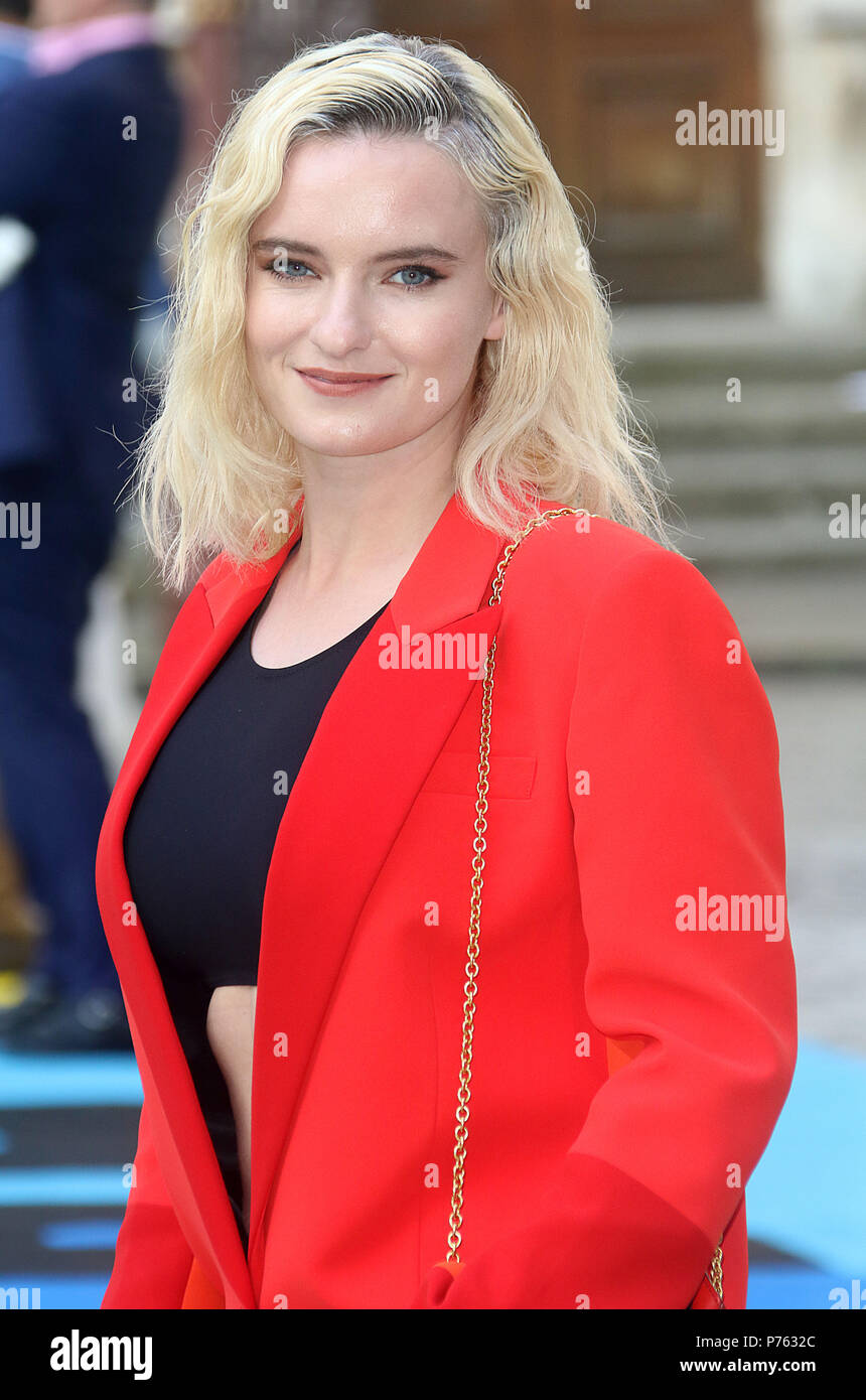 Jun 06, 2018 - Grace Chatto attending Royal Academy Of Arts 250th Summer Exhibition Preview Party at Burlington House in London, England, UK - Stock Image