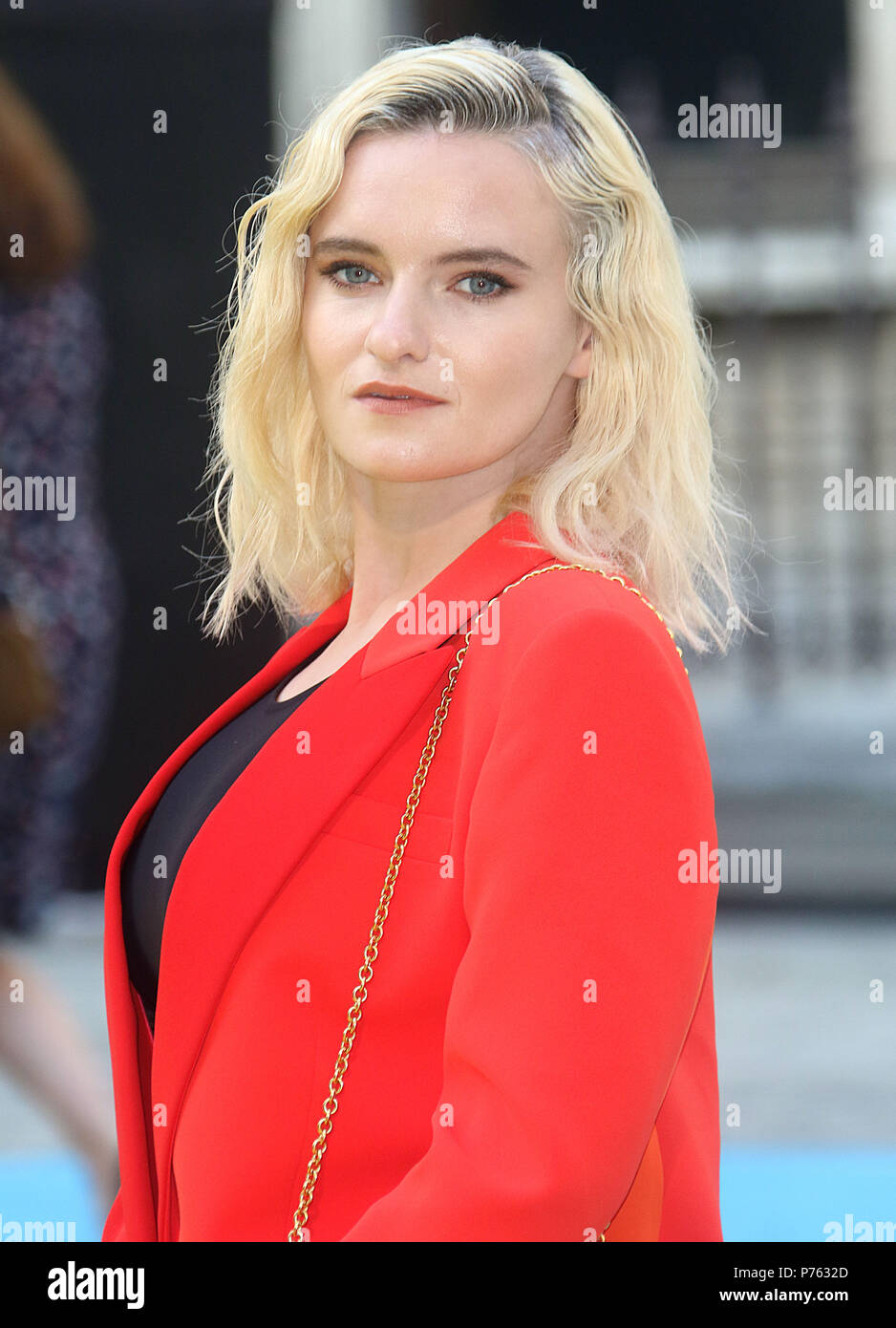 Jun 06, 2018 - Grace Chatto attending Royal Academy Of Arts 250th Summer Exhibition Preview Party at Burlington House in London, England, UK Stock Photo