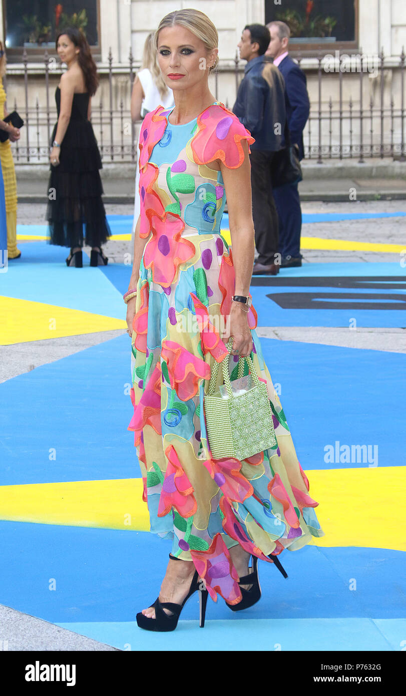 Jun 06, 2018 - Laura Bailey attending Royal Academy Of Arts 250th Summer Exhibition Preview Party at Burlington House in London, England, UK - Stock Image