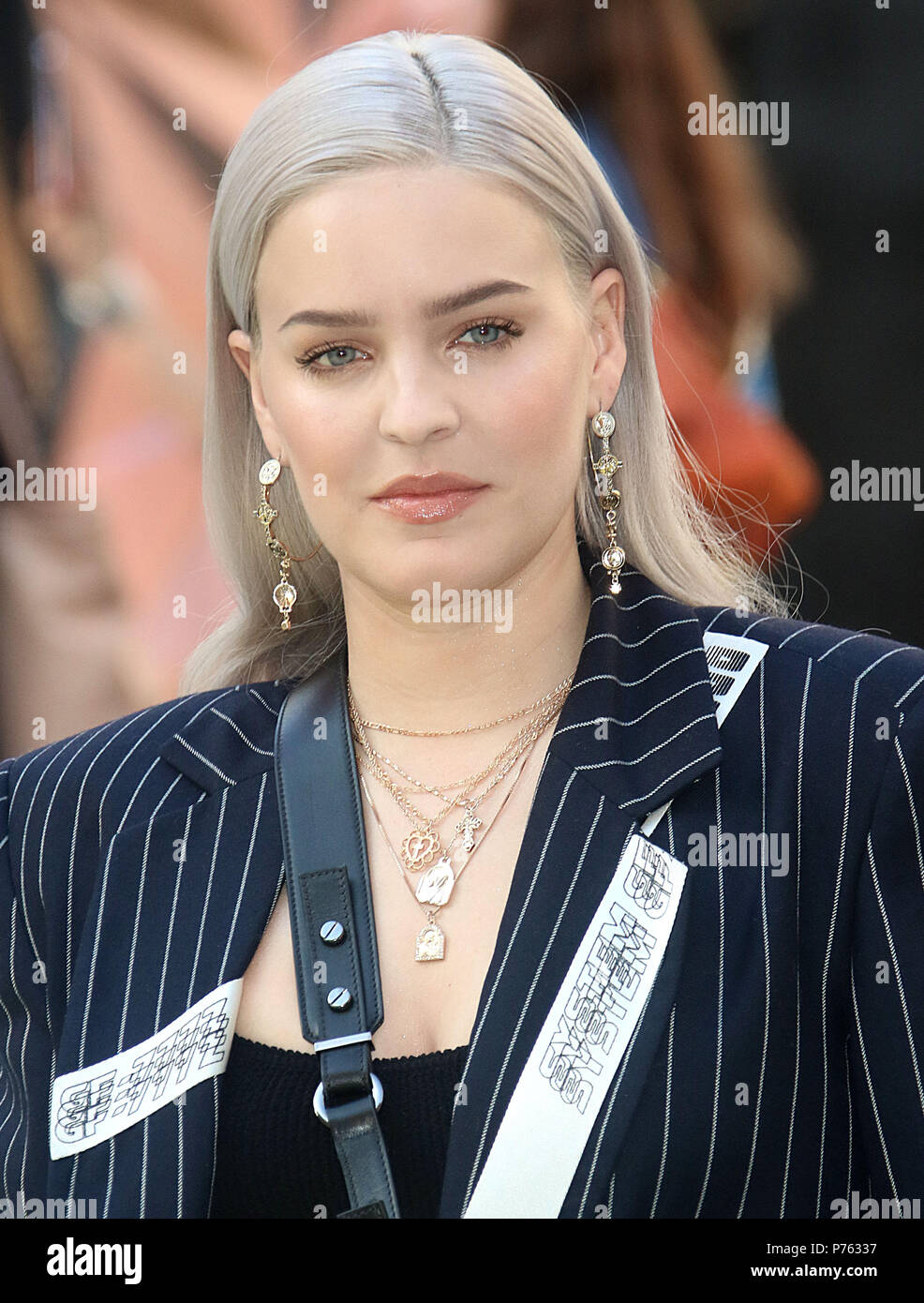 Jun 06, 2018 - Anne-Marie attending Royal Academy Of Arts 250th Summer Exhibition Preview Party at Burlington House in London, England, UK - Stock Image