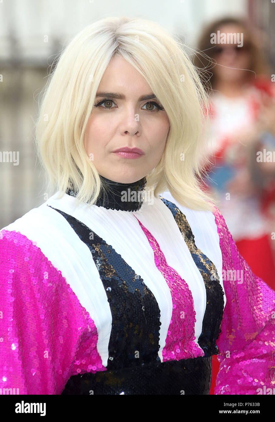 Jun 06, 2018 - Paloma Faith attending Royal Academy Of Arts 250th Summer Exhibition Preview Party at Burlington House in London, England, UK - Stock Image