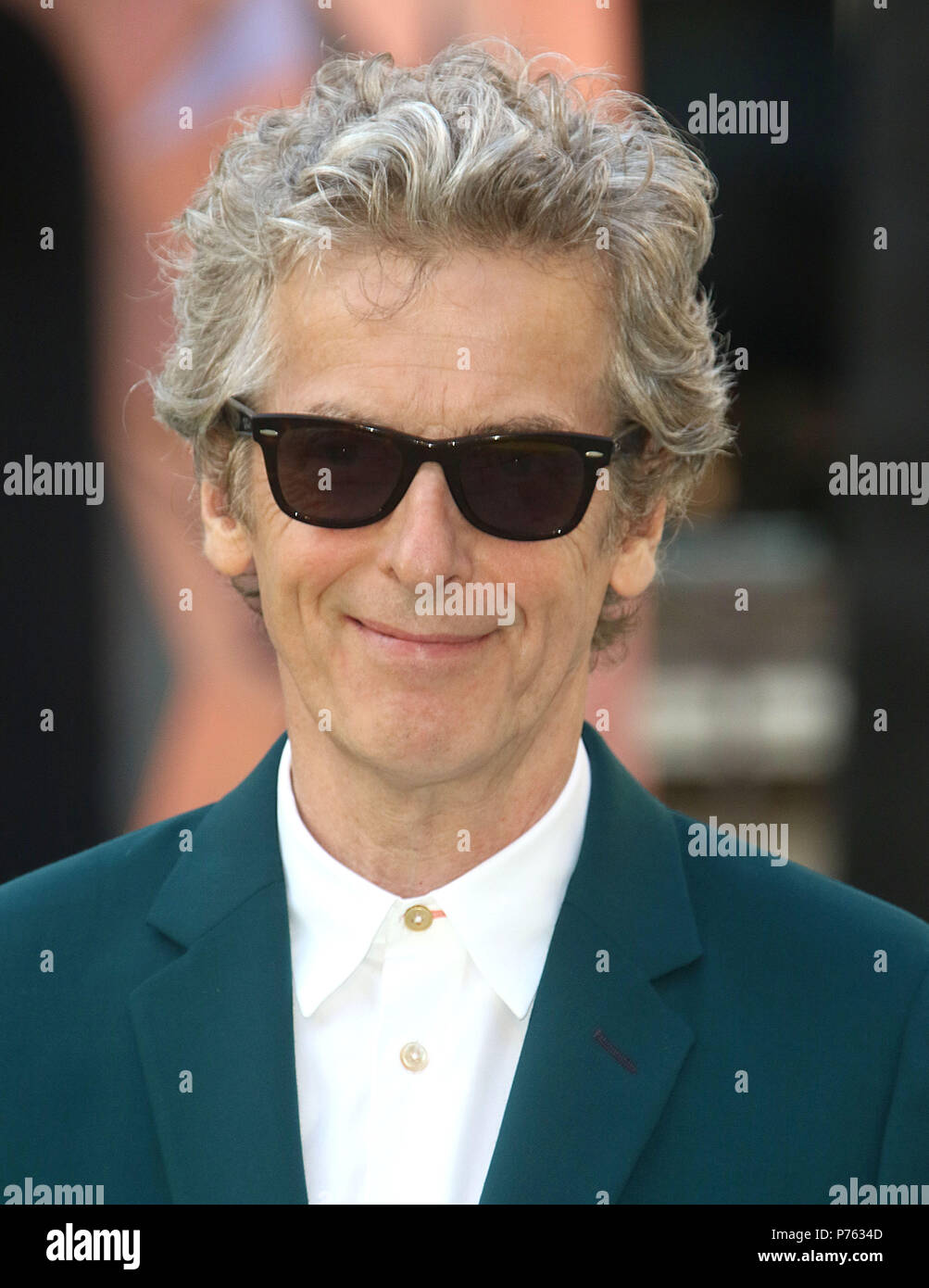 Jun 06, 2018 - Peter Capaldi attending Royal Academy Of Arts 250th Summer Exhibition Preview Party at Burlington House in London, England, UK - Stock Image