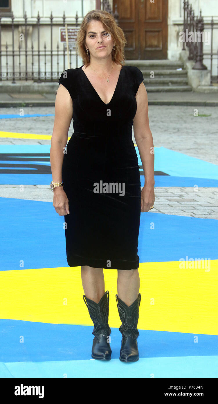 Jun 06, 2018 - Tracey Emin attending Royal Academy Of Arts 250th Summer Exhibition Preview Party at Burlington House in London, England, UK - Stock Image
