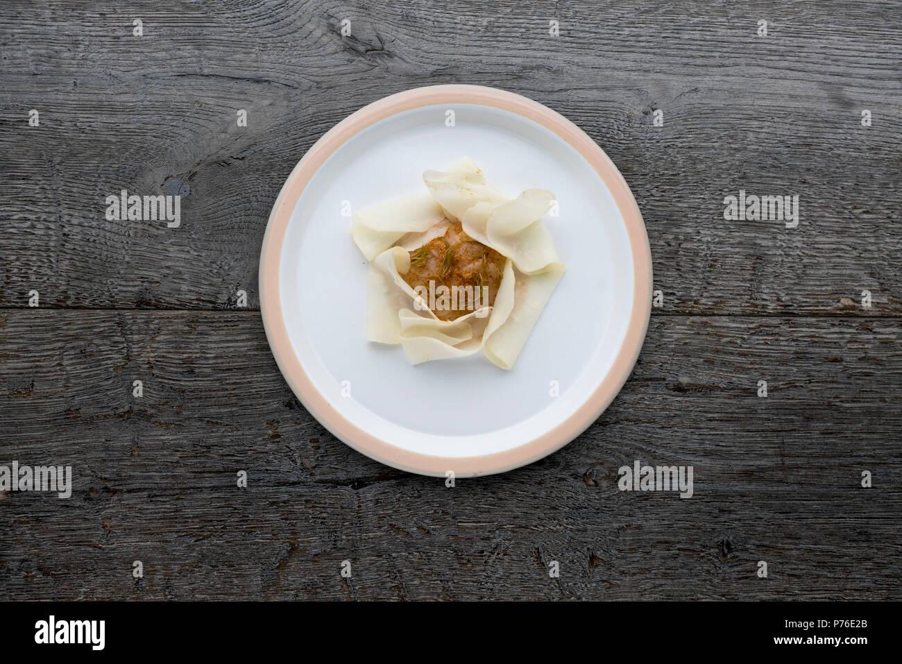 Musling, restaurant Copenhagen - Stock Image