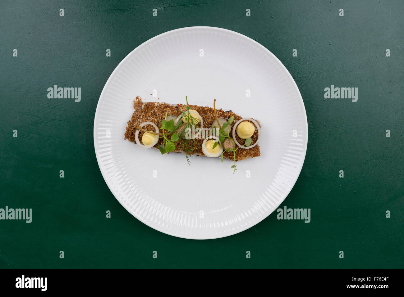 Palaegade restaurant copenhagen - Stock Image