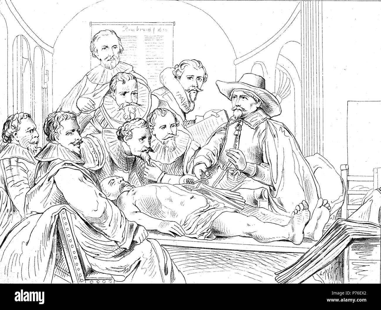 Dorable Who Painted The Anatomy Lesson Image - Human Anatomy Images ...