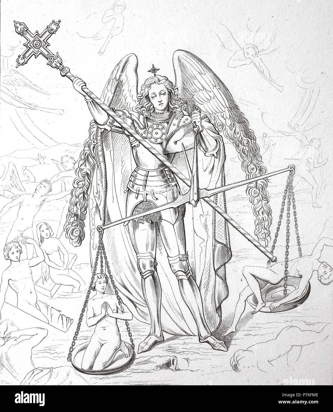 Archangel Saint Michael Stock Photos Archangel Saint Michael Stock