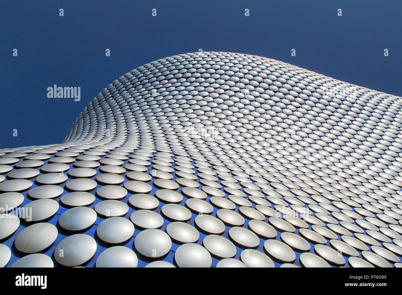 Birmingham, UK: June 29, 2018: Selfridges is one of Birmingham city's most distinctive and iconic landmarks and part of the Bullring Shopping Centre. - Stock Image