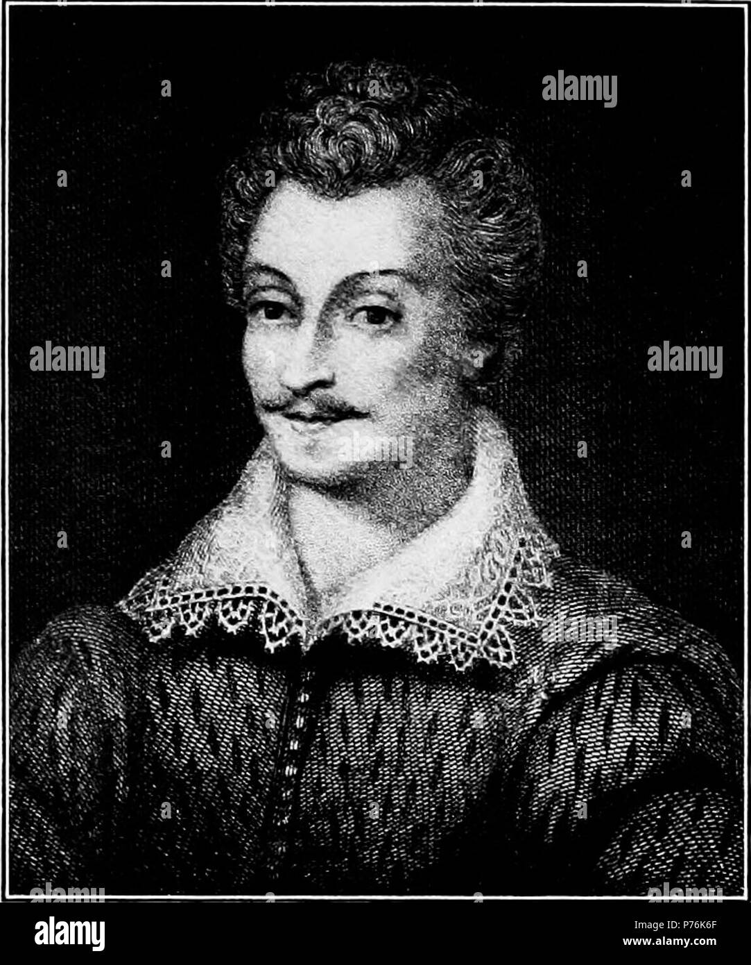 English: Sir Philip Sidney. 1912 4 Elizabethan People - Sir Philip Sidney - Stock Image