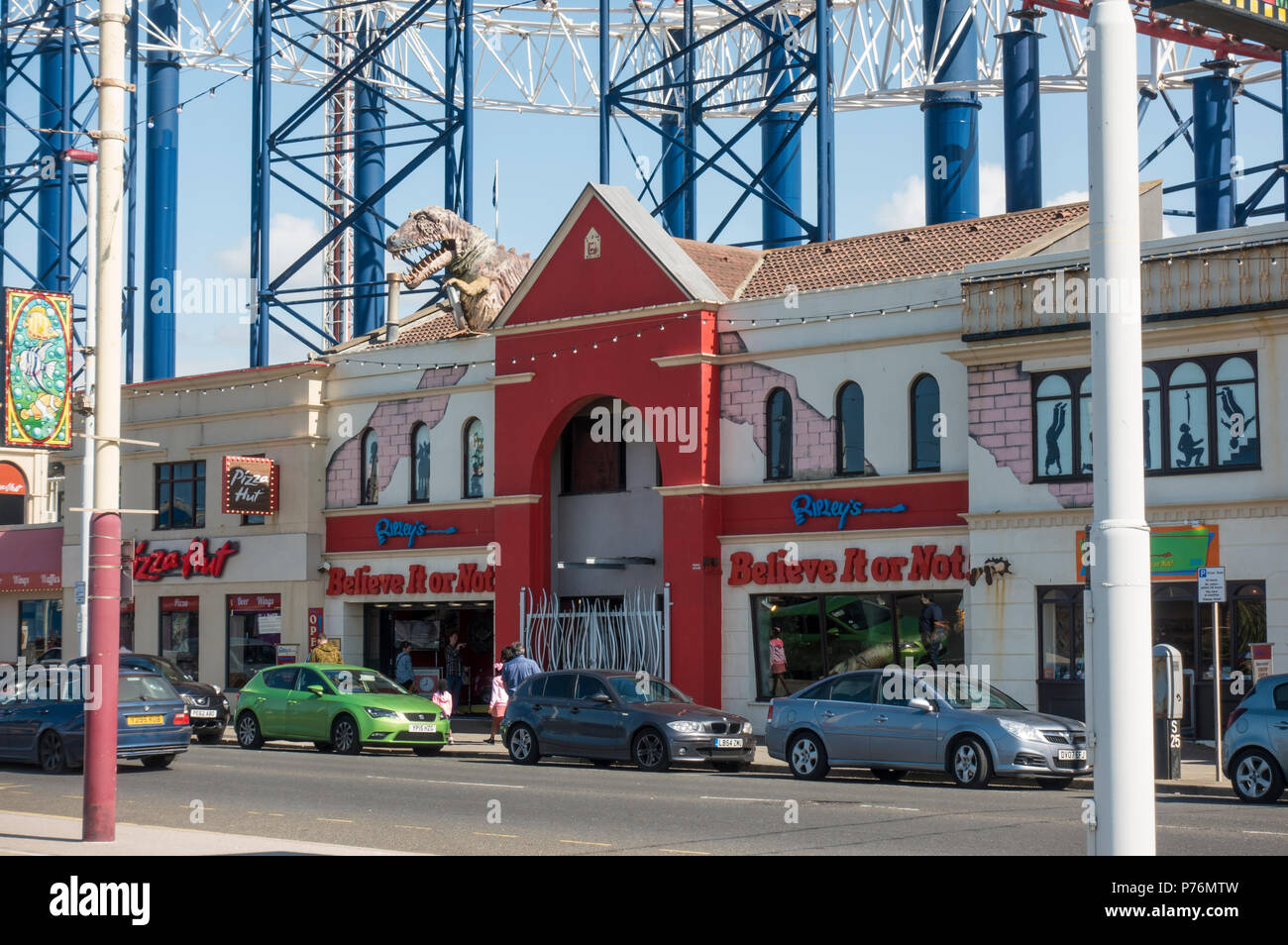 Ripleys Believe it or Not in Blackpool - Stock Image