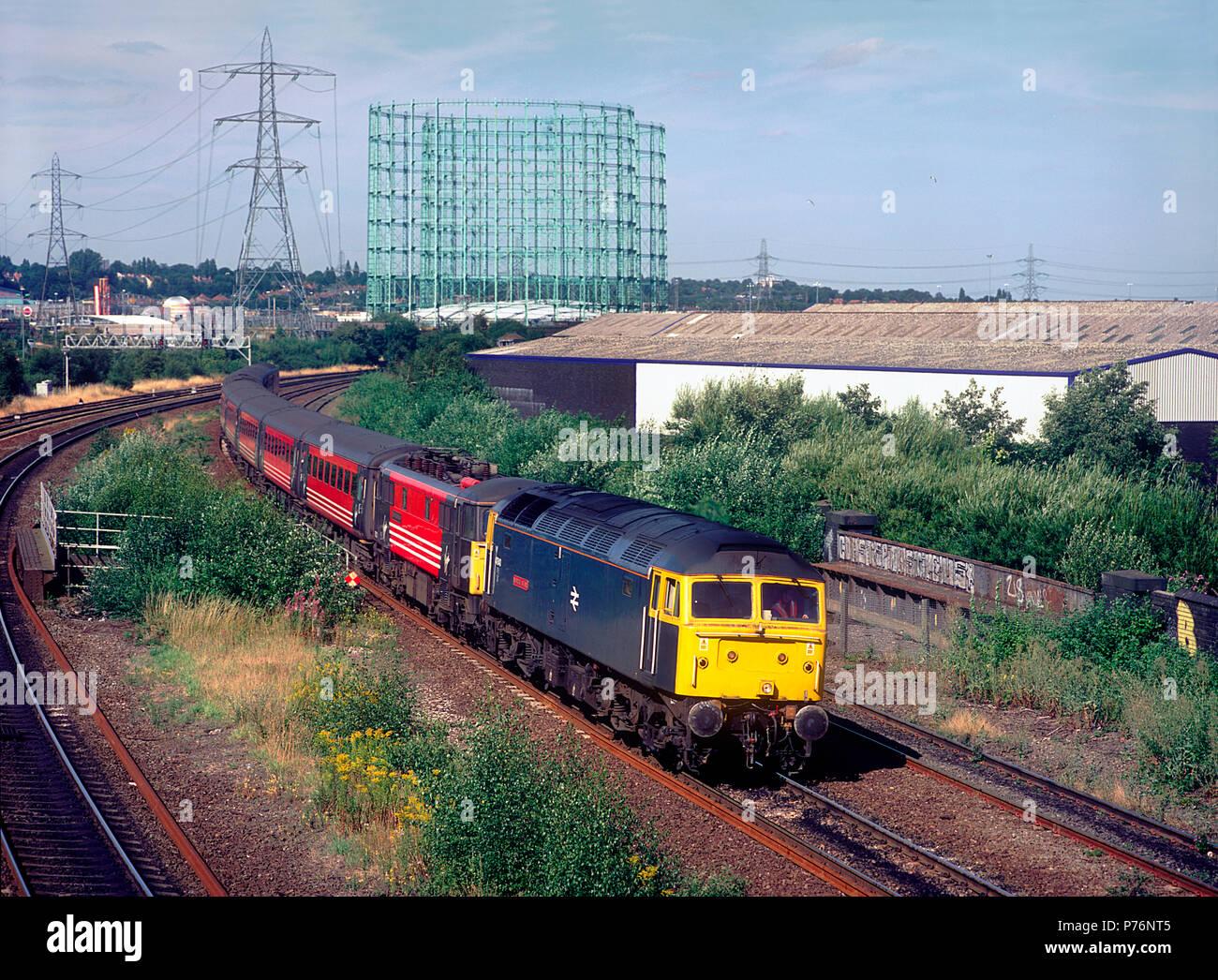 Br Diesel Electric Locomotive Stock Photos & Br Diesel
