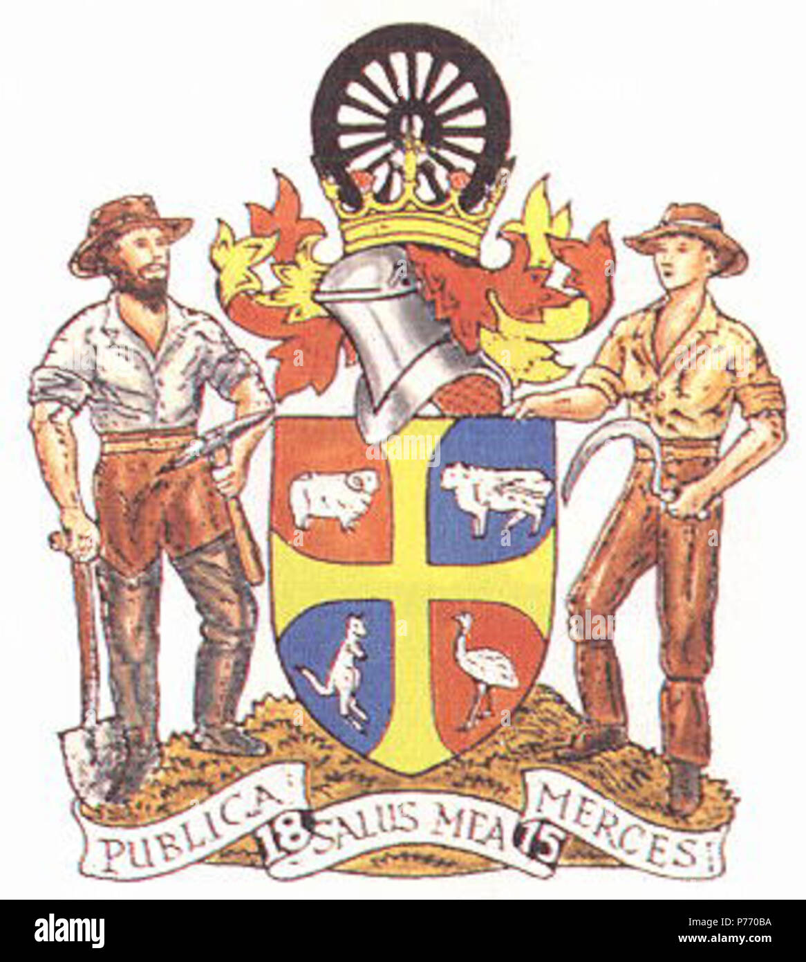 English: Bathurst City Coat of Arms were granted on