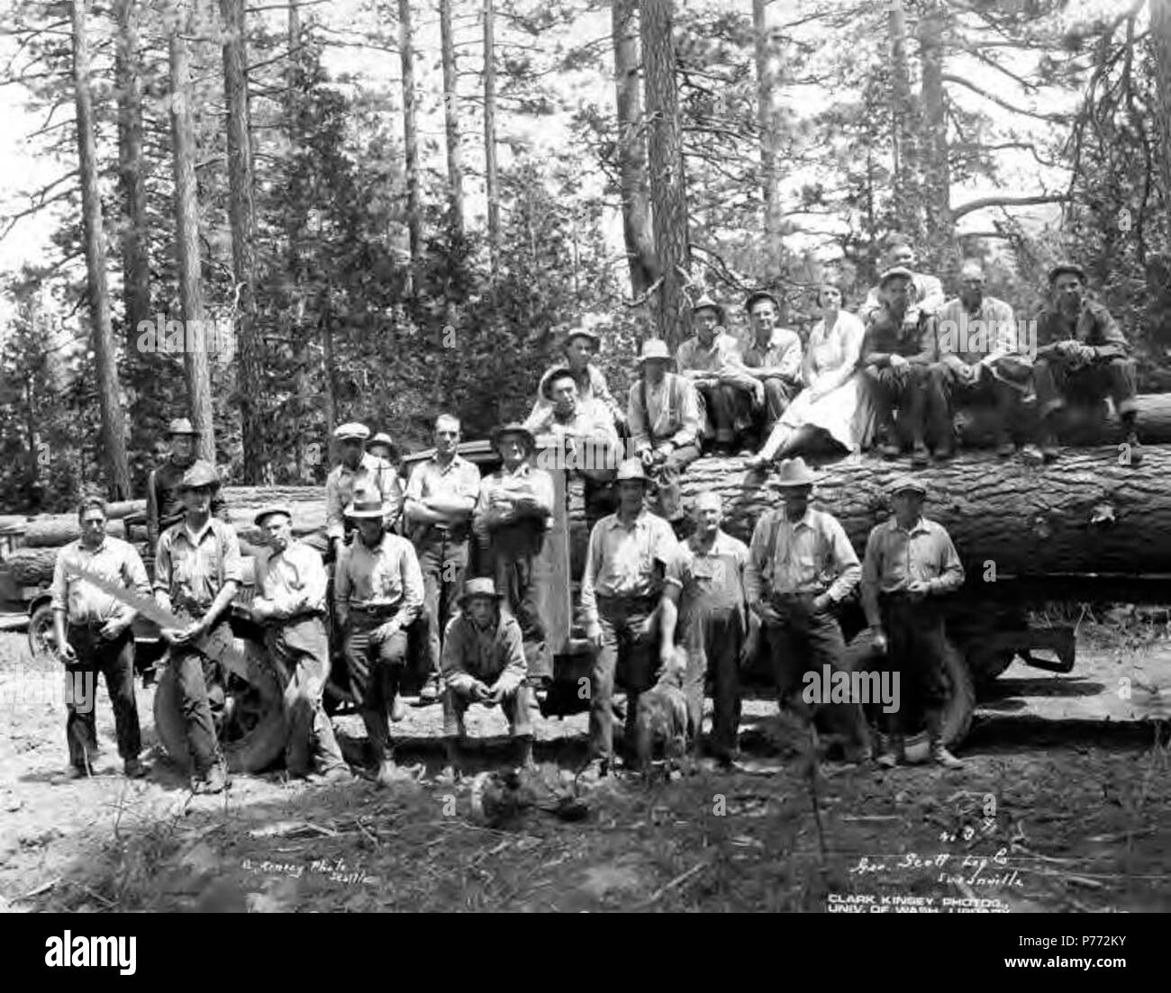 George kinsey stock photos george kinsey stock images alamy english crew posing with logging truck george scott lumber company susanville publicscrutiny Choice Image