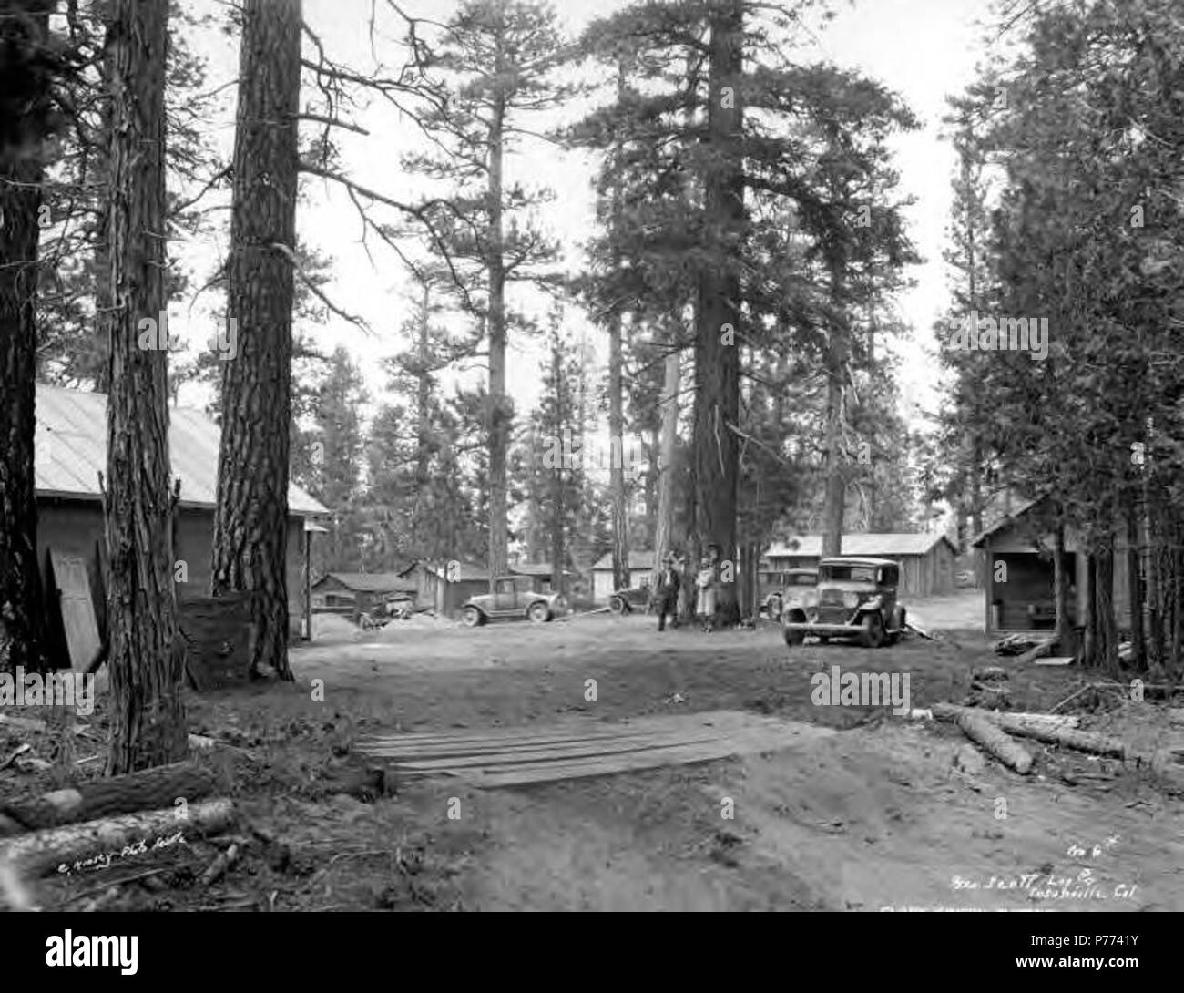 Susanville california black and white stock photos images alamy english logging camp and cars george scott lumber company susanville ca publicscrutiny Choice Image