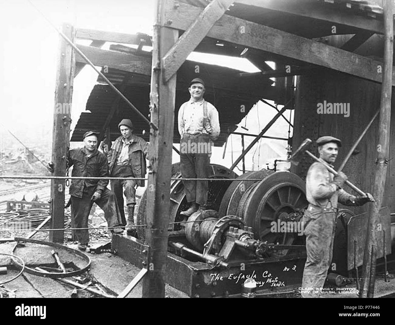 english logging crew and donkey engine the eufaula company ca
