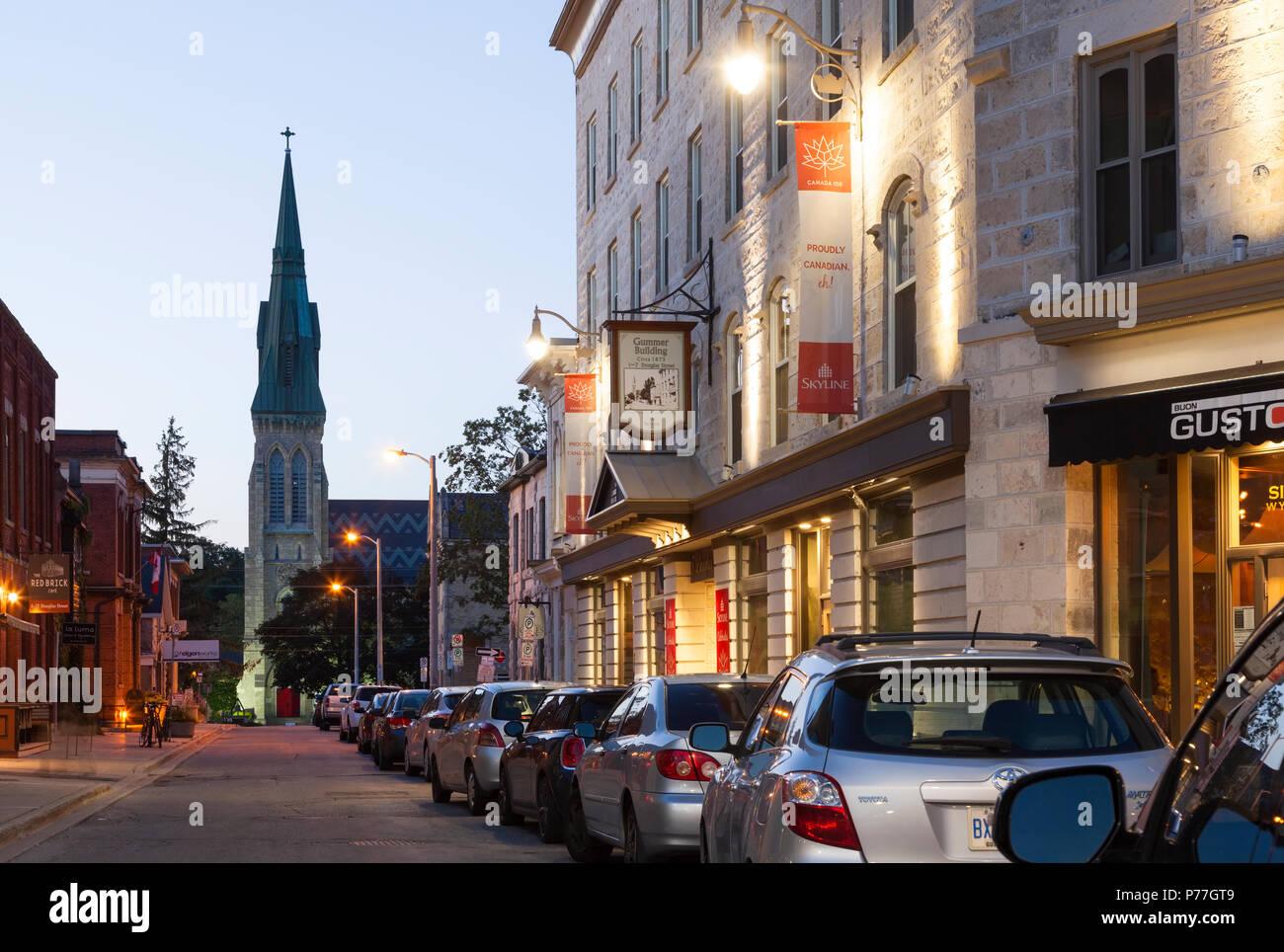Ontario Canada Downtown Douglas Street ...