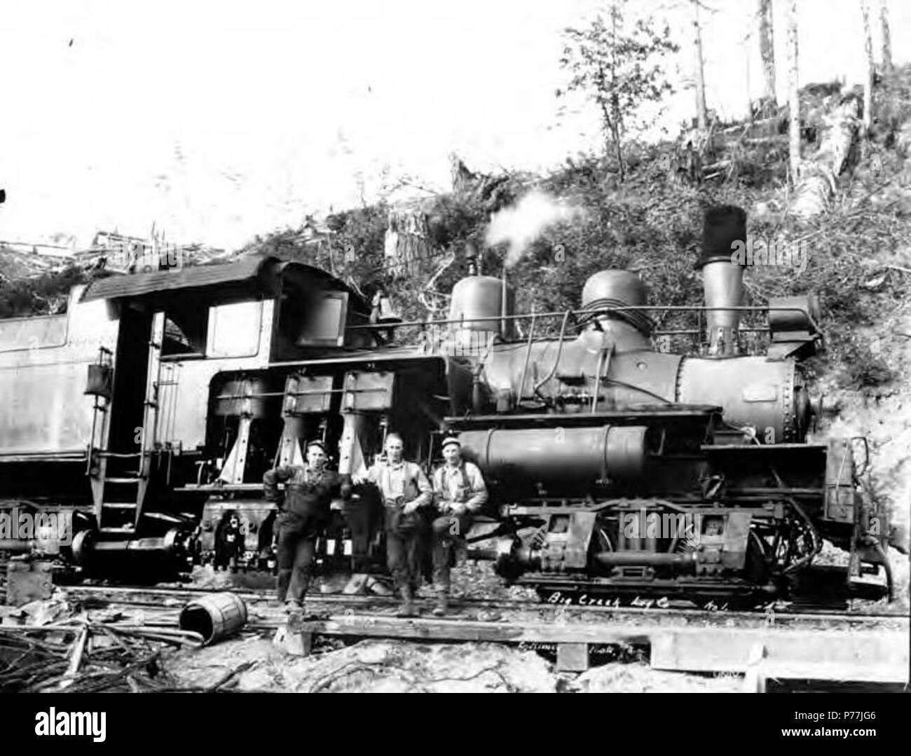 Poster in 3 Sizes Logging Locomotive Columbia /& Nehalem Valley RR Oregon 1900