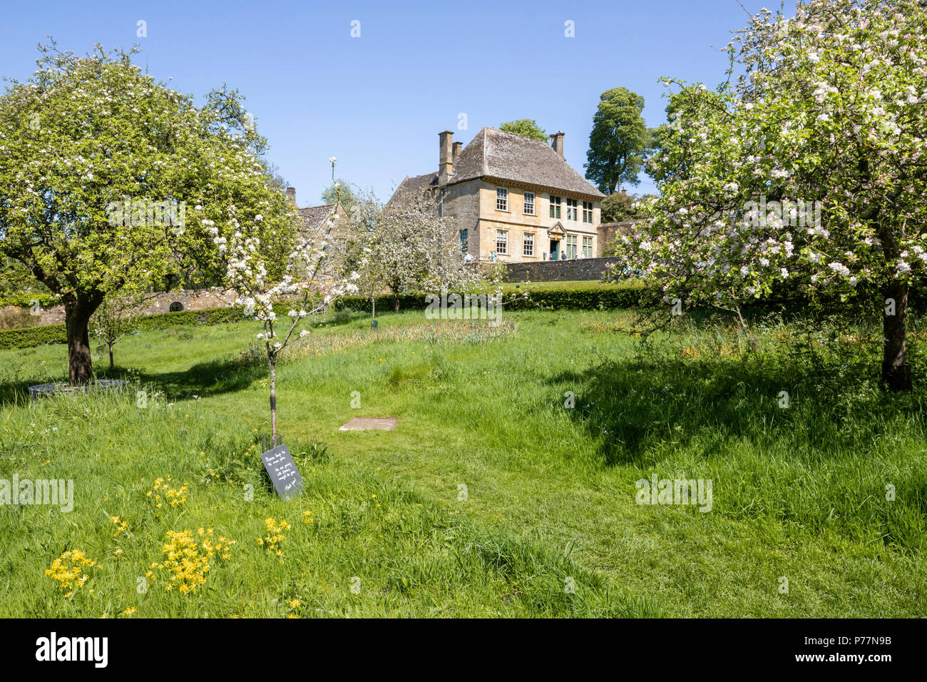 Snowshill Manor in the Cotswold village of Snowshill, Gloucestershire UK Stock Photo