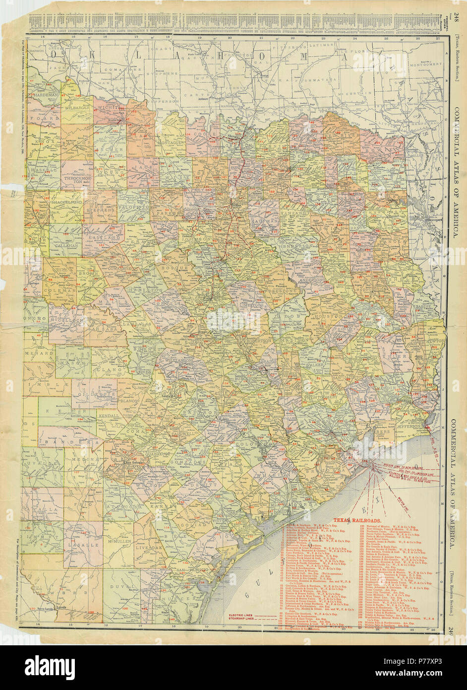 Quanah Texas Map on
