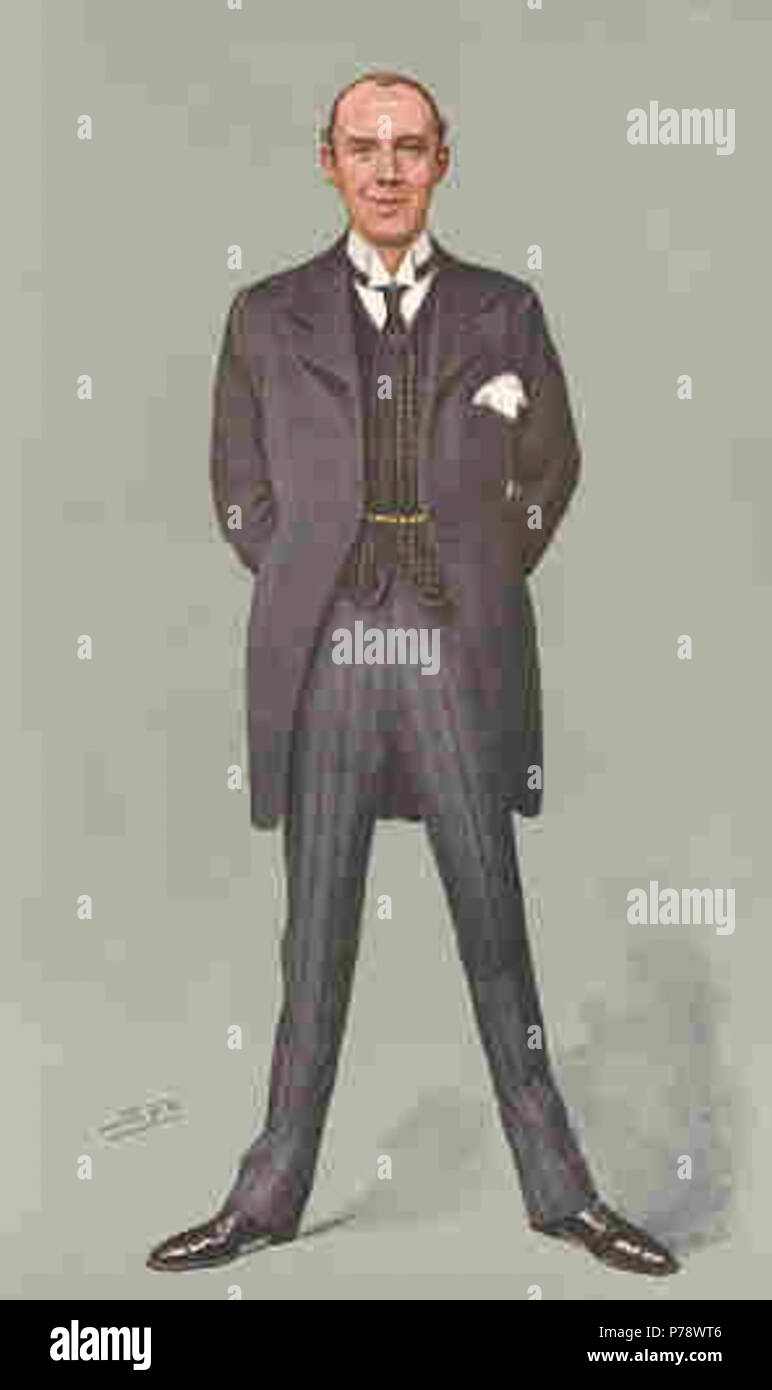 Caricature of Sir Alfred Downing Fripp (1865-1930), surgeon. Caption read 'A Master of the knife'. 18 September 1907 17 Sir Alfred Fripp00 - Stock Image