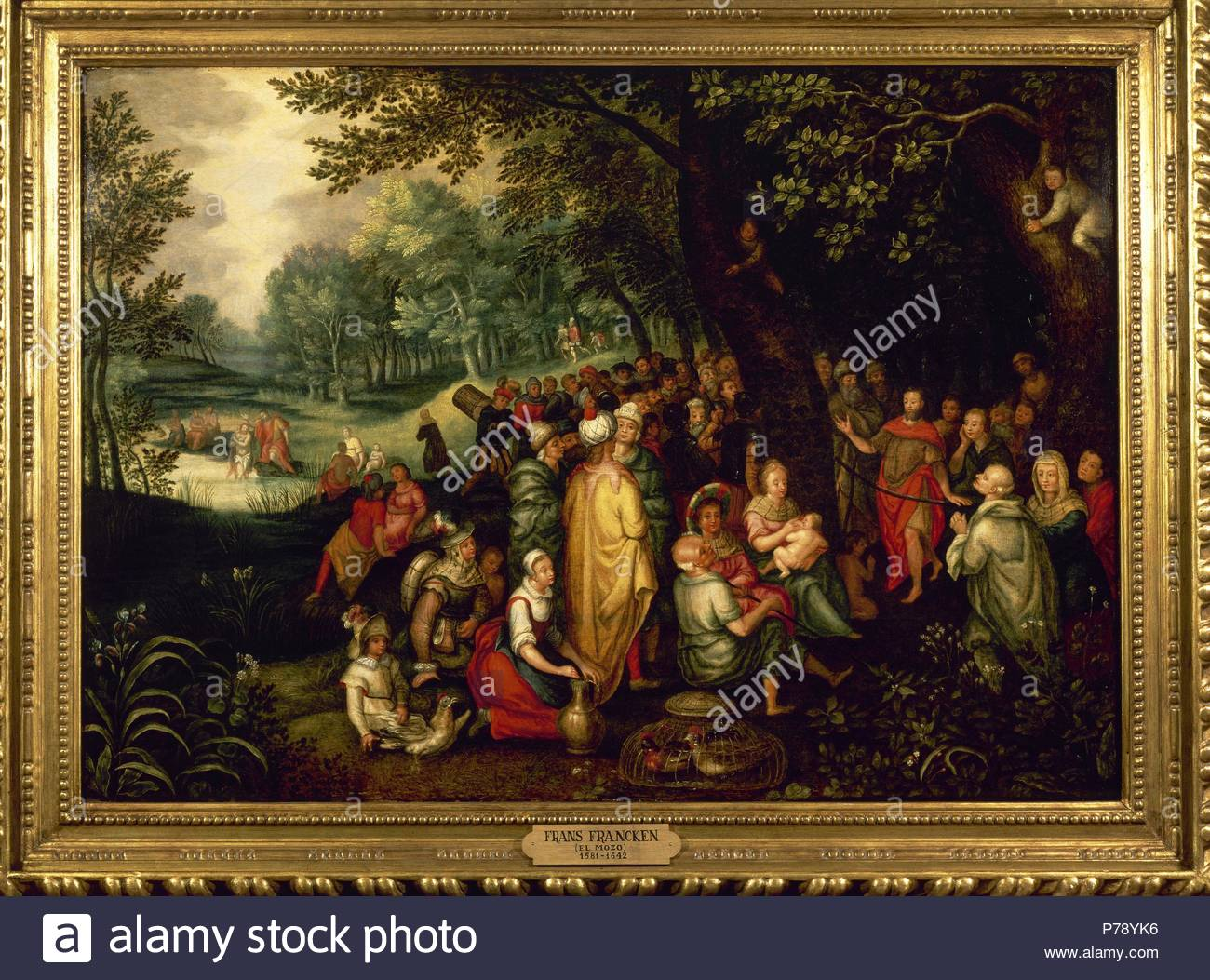 Frans Francken the Younger (1581-1642). Flemish painter. Scenes from the  life of John the Baptist. 17th century.