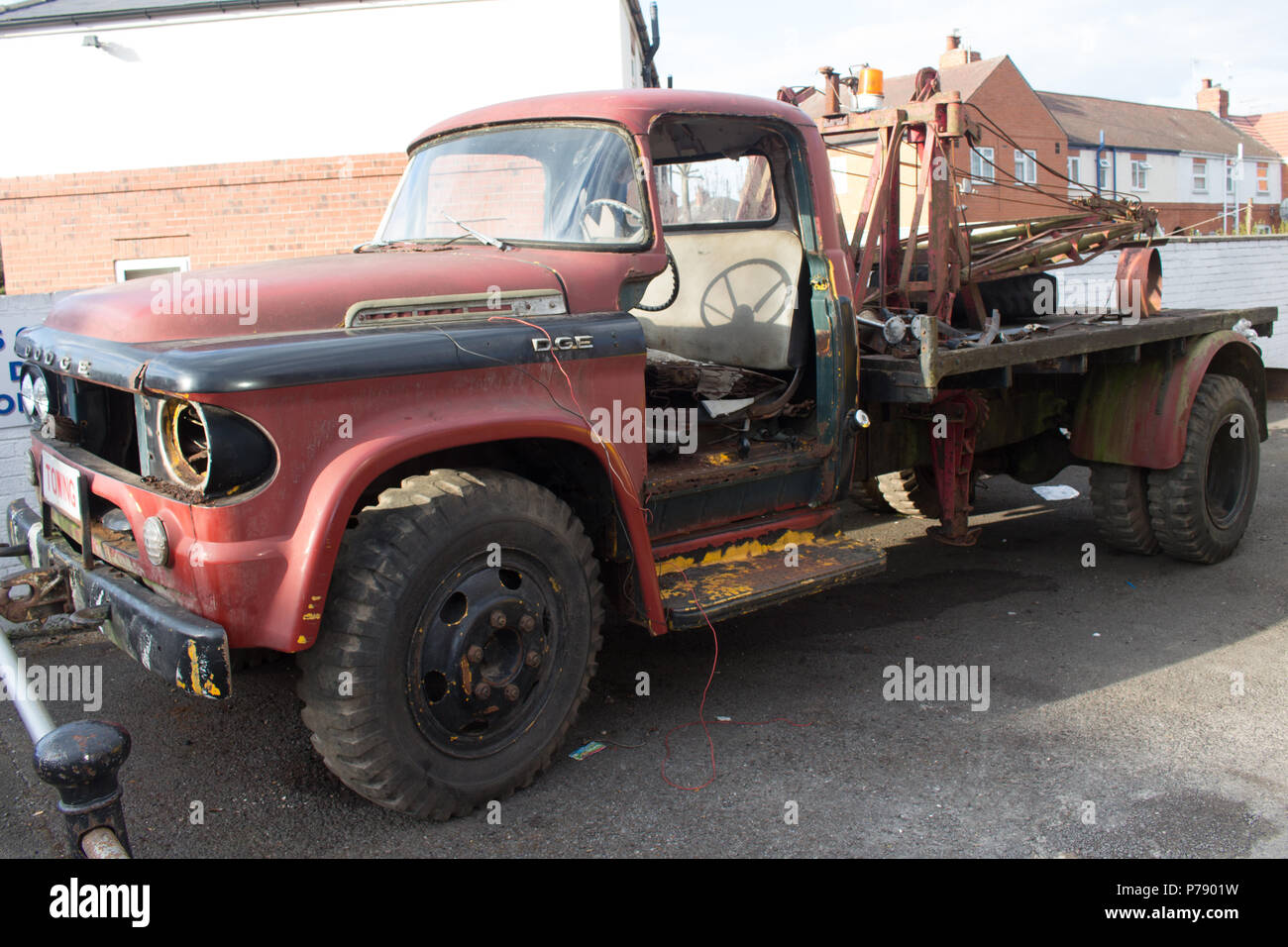 Dodge Truck Stock Photos Images Page 3 Alamy 1954 Tow Image