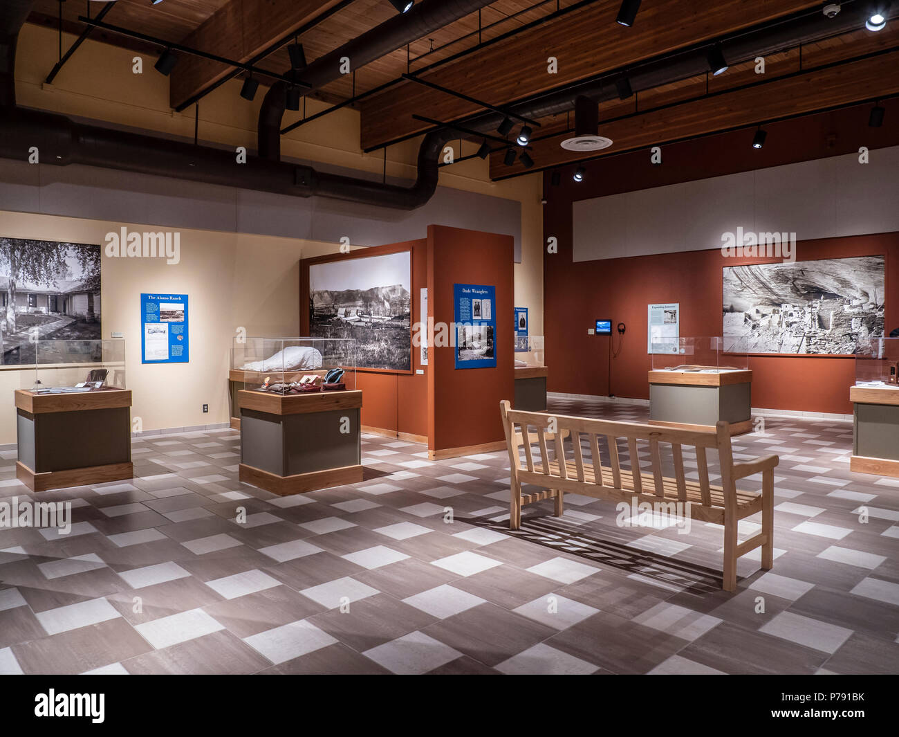 Anasazi Heritage Center, Dolores, Colorado. - Stock Image