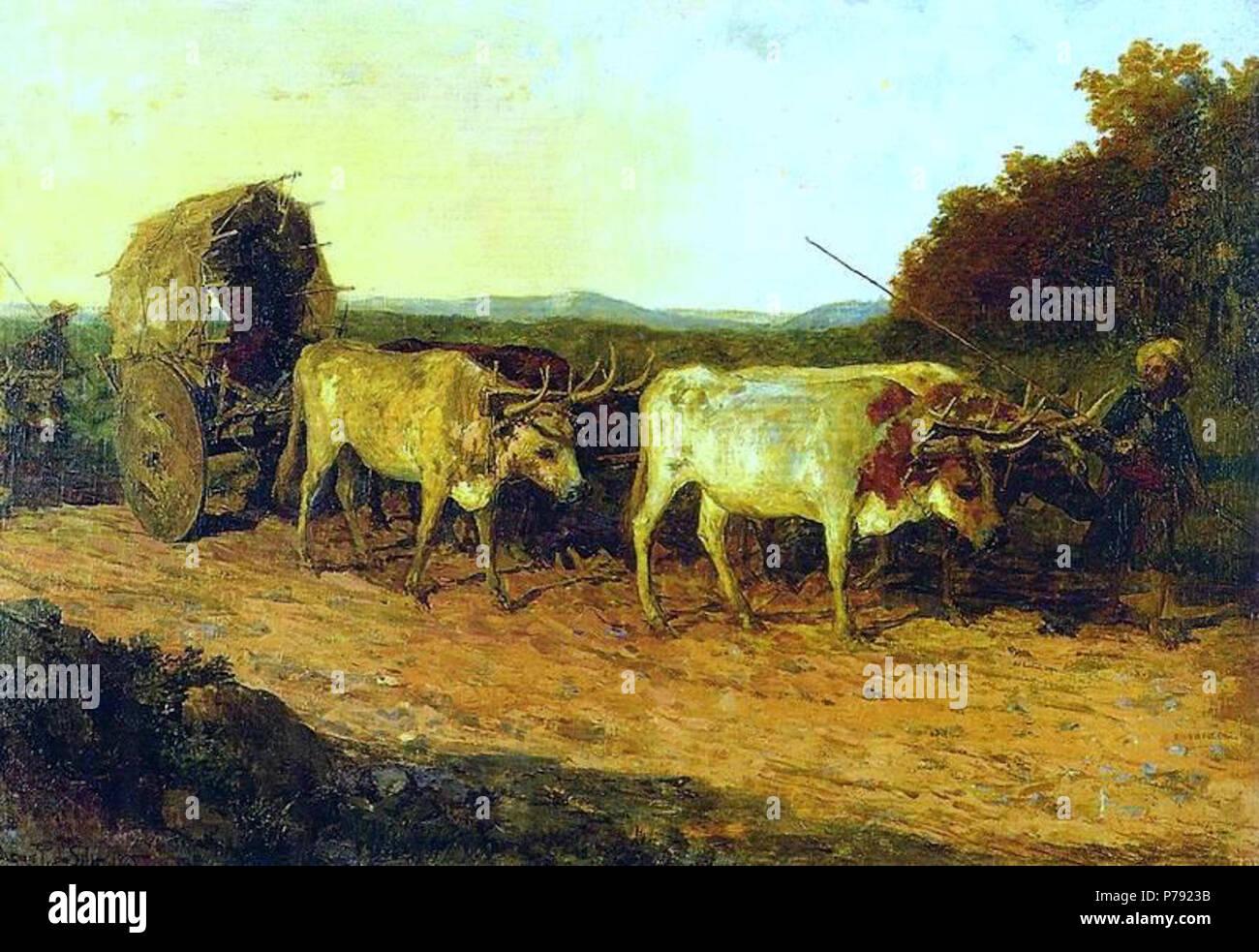 Carro In English >> Portugues Carro De Bois English Bullock Cart 1925 45 Oscar Pereira