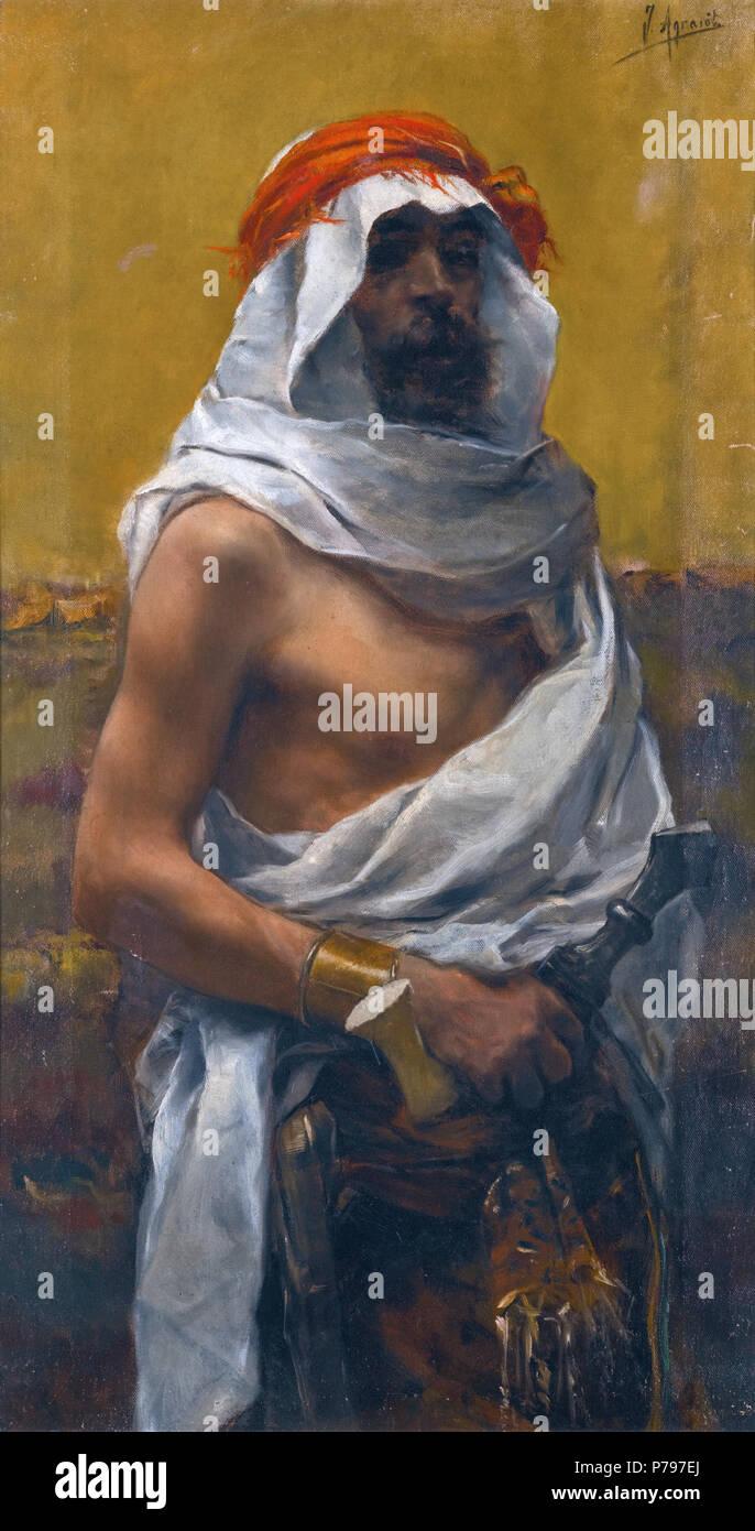 6 Joaquín Agrasot - Un hombres árabes - Stock Image