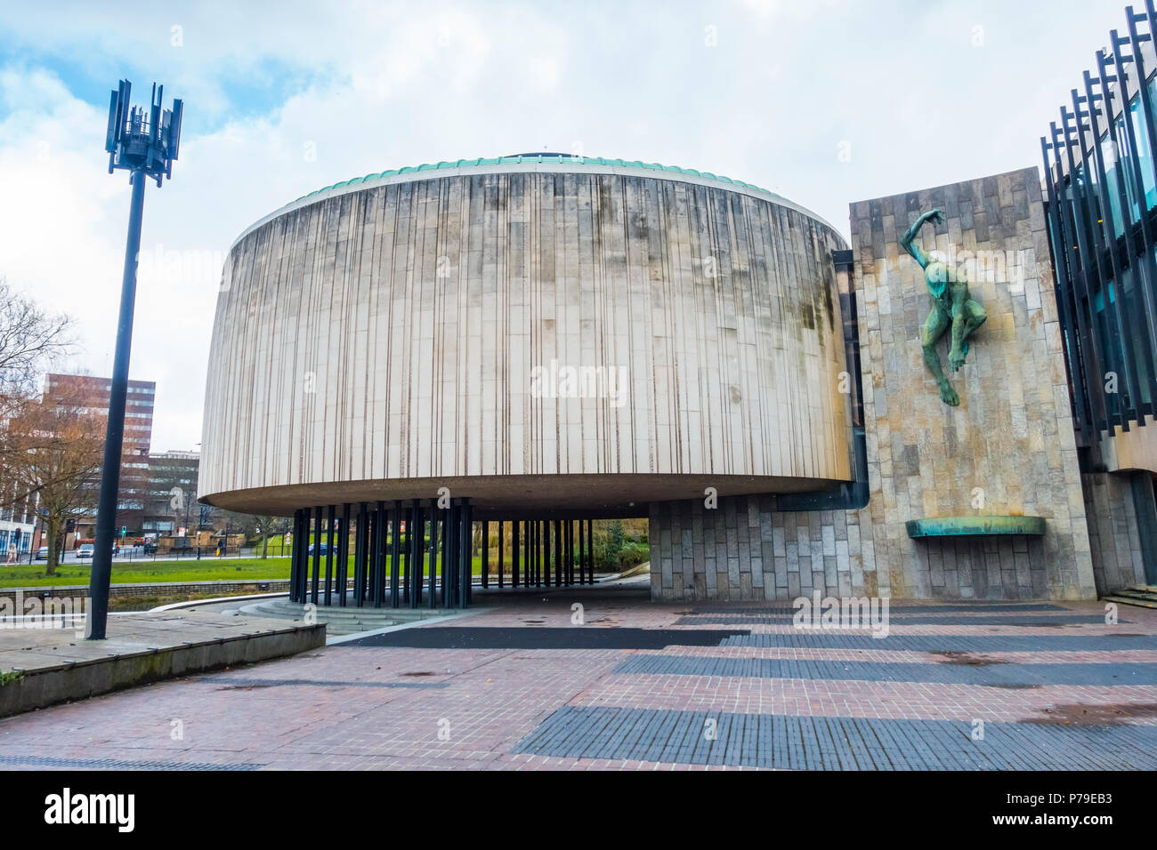 Newcastle upon Tyne Civic Centre designed by George Kenyon - Stock Image