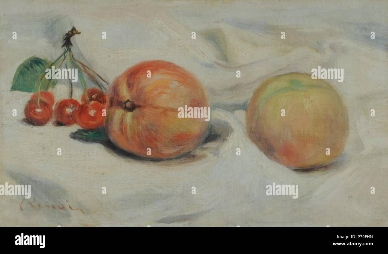 Q27954661 . Español: Pierre-Auguste Renoir, Peches et cerises ...