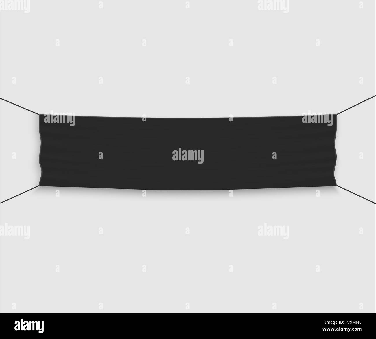 template vector banner invite for ribbon cutting ceremony stock