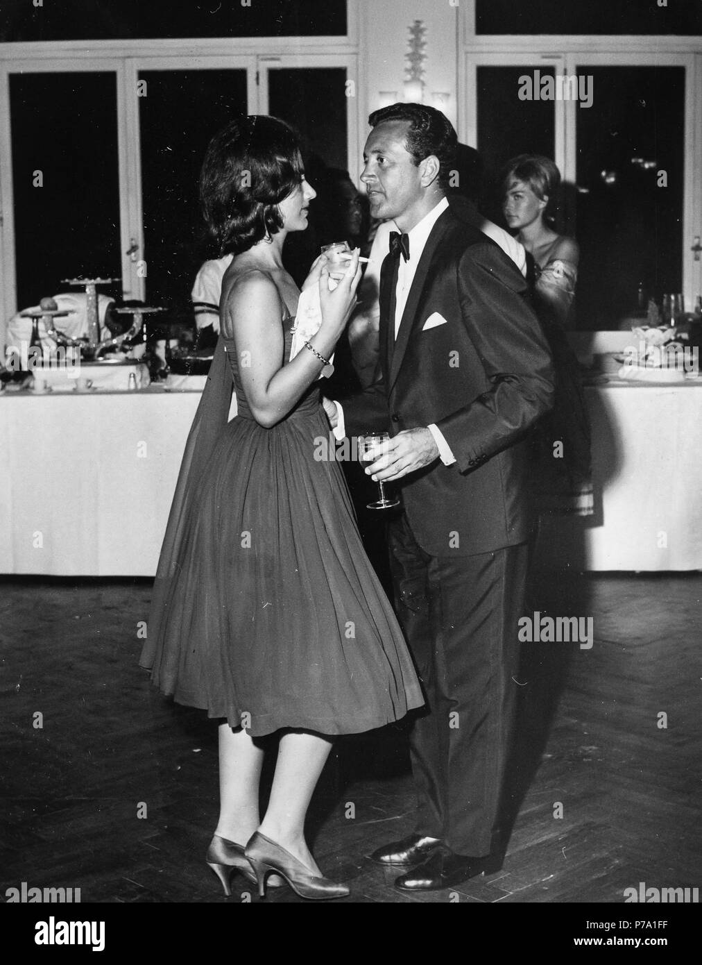 vic damone, 1960 - Stock Image