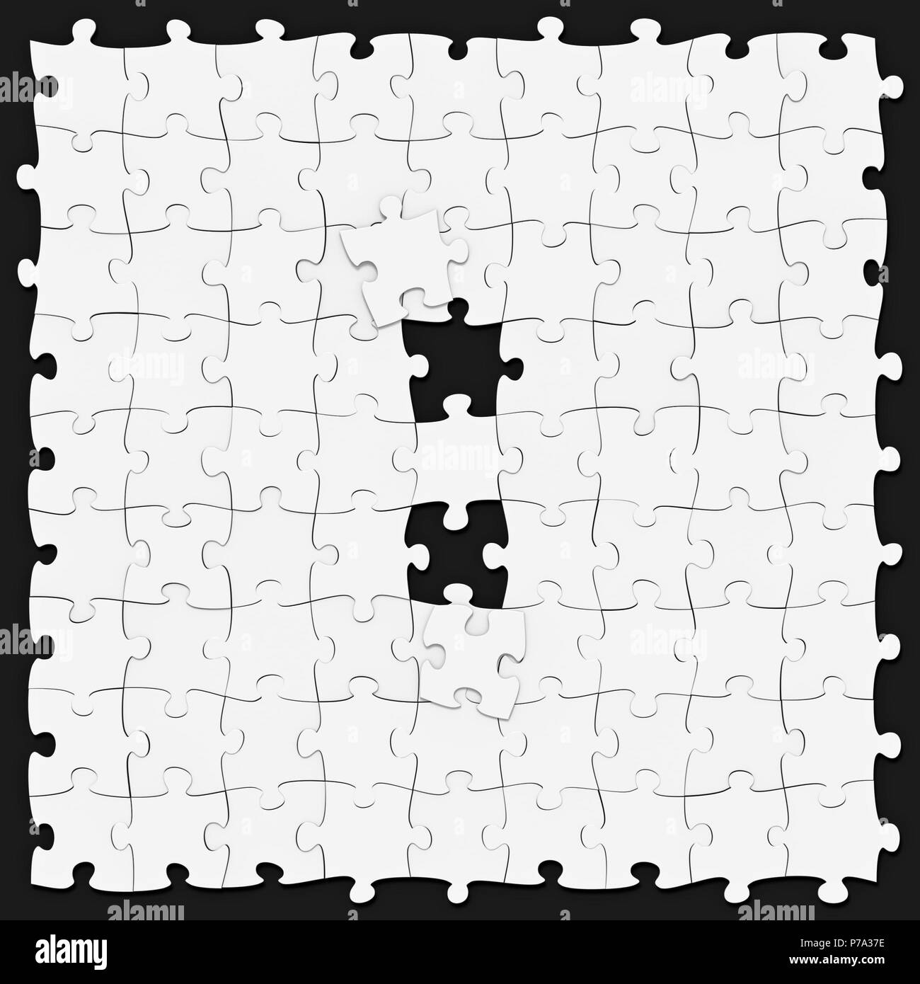 Jigsaw Puzzles Assembled Like Mathematical Operation Symbol Of