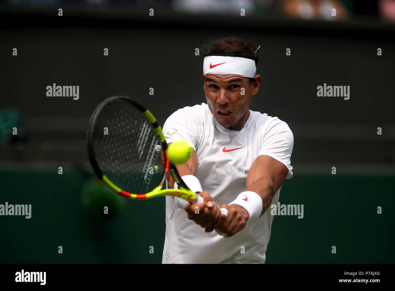 new arrival c7db1 0f7e5 Wimbledon Tennis  Rafael Nadal of Spain