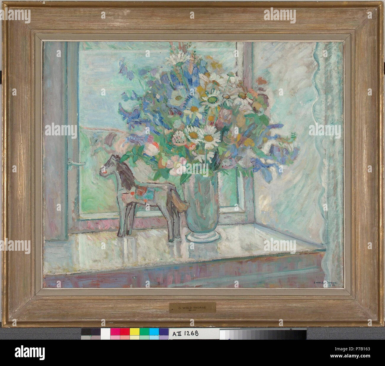 . Q20782602  1916 60 Oluf Wold-Torne - Kukkia - A II 1268 - Finnish National Gallery - Stock Image