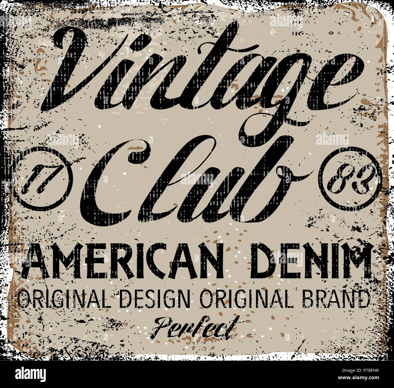 Vintage Design Stamp Typography T Shirt Graphics Poster Banner Print Flyer Postcard