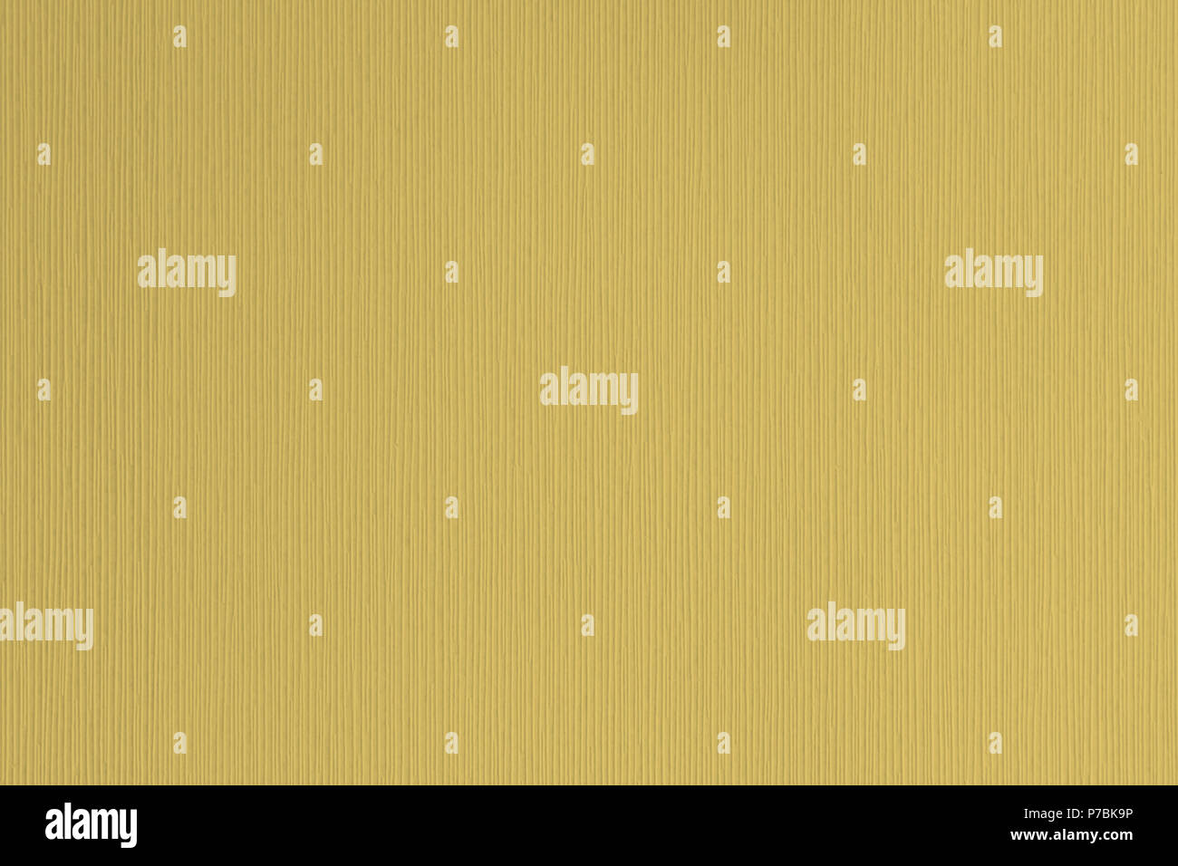 Mustard Yellow Textured Corrugated Striped Wallpaper Background