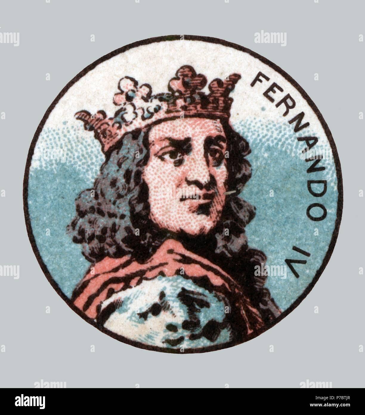 Espana Edad Media Fernando Iv 1285 1312 El Emplazado Rey De