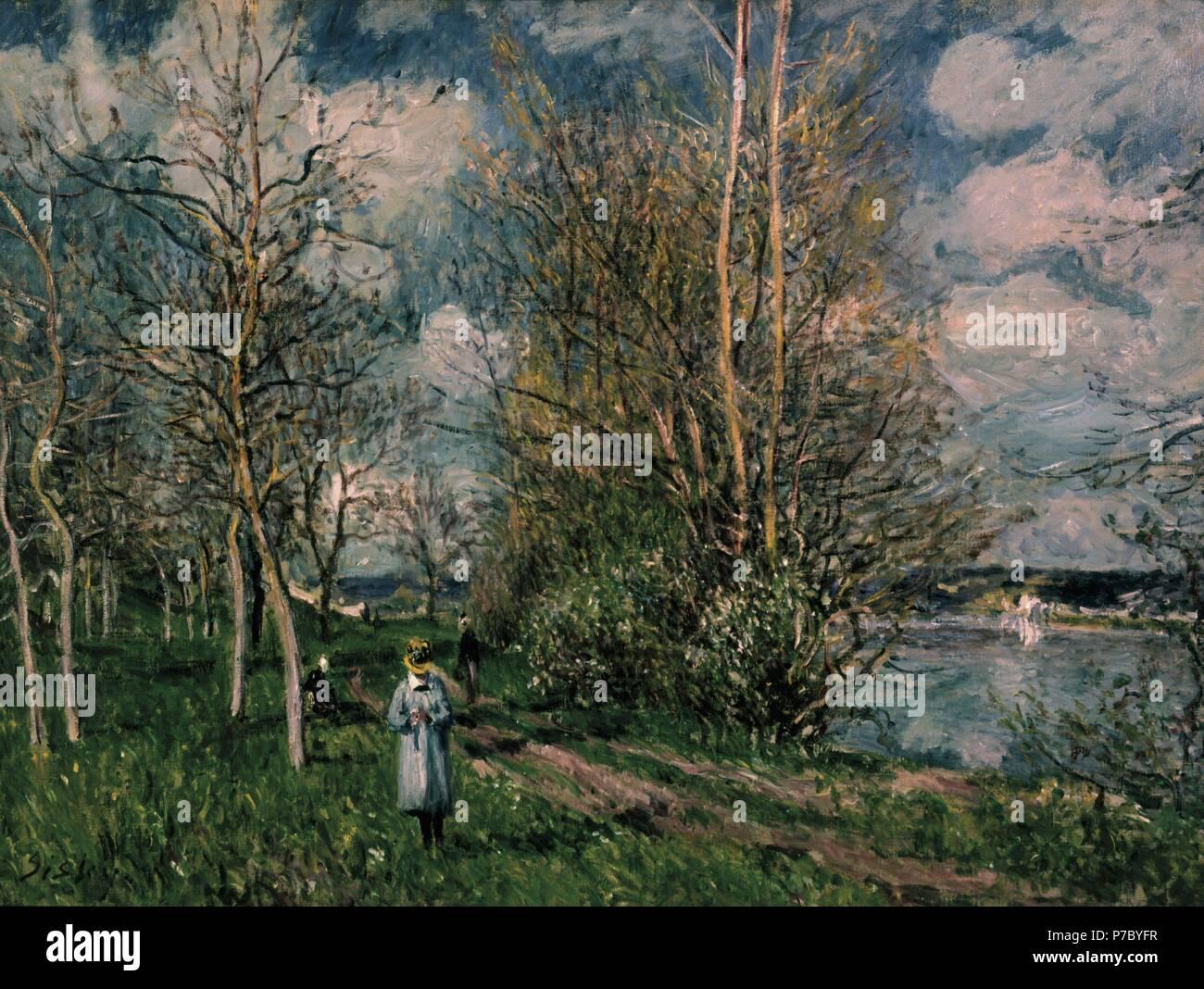 Pequeño campo en primavera/1880. Museum: THE TATE GALLERY LONDRES G. BRETAÑA. - Stock Image