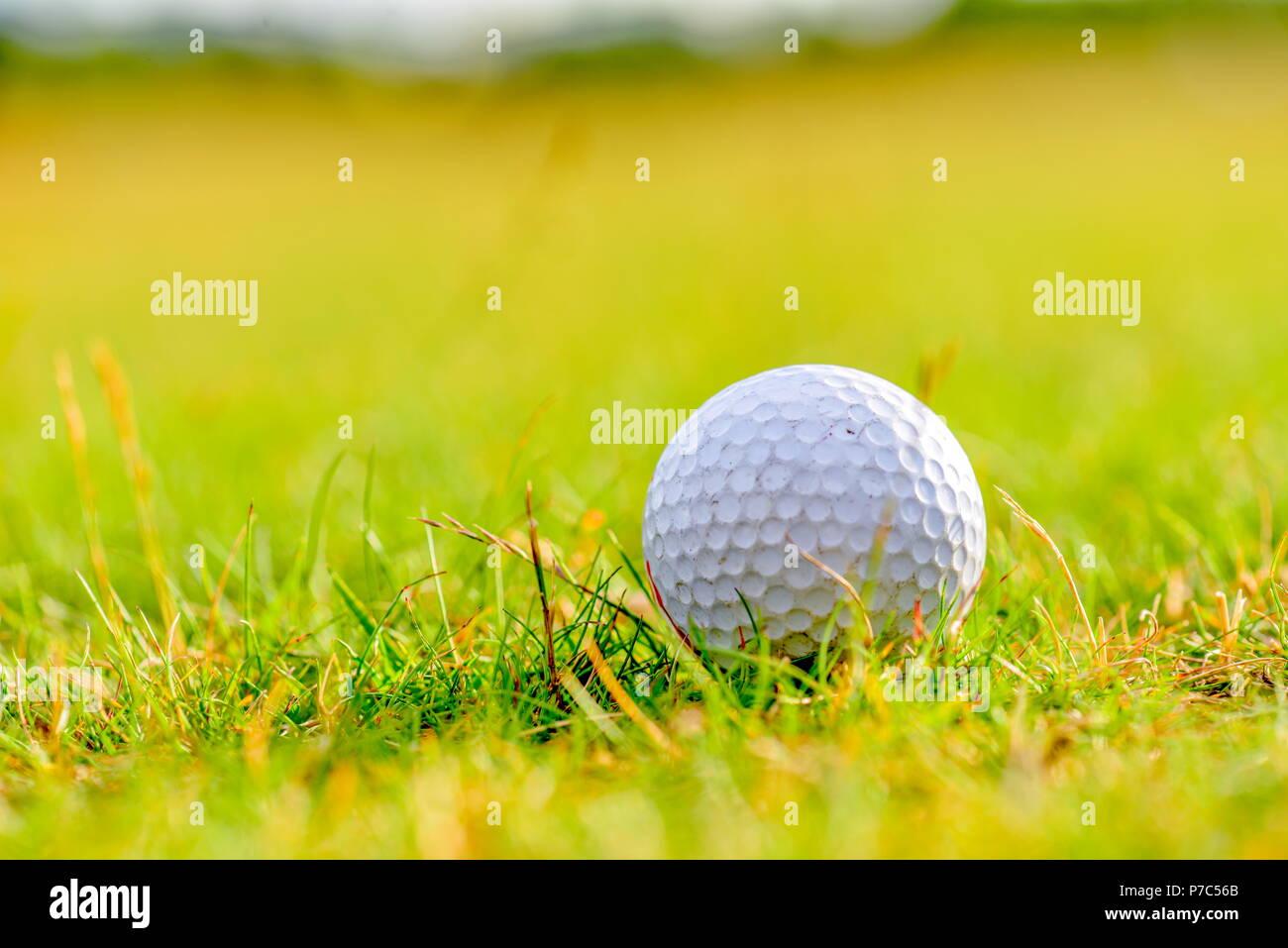 Golf Course Background Stock Photo Alamy