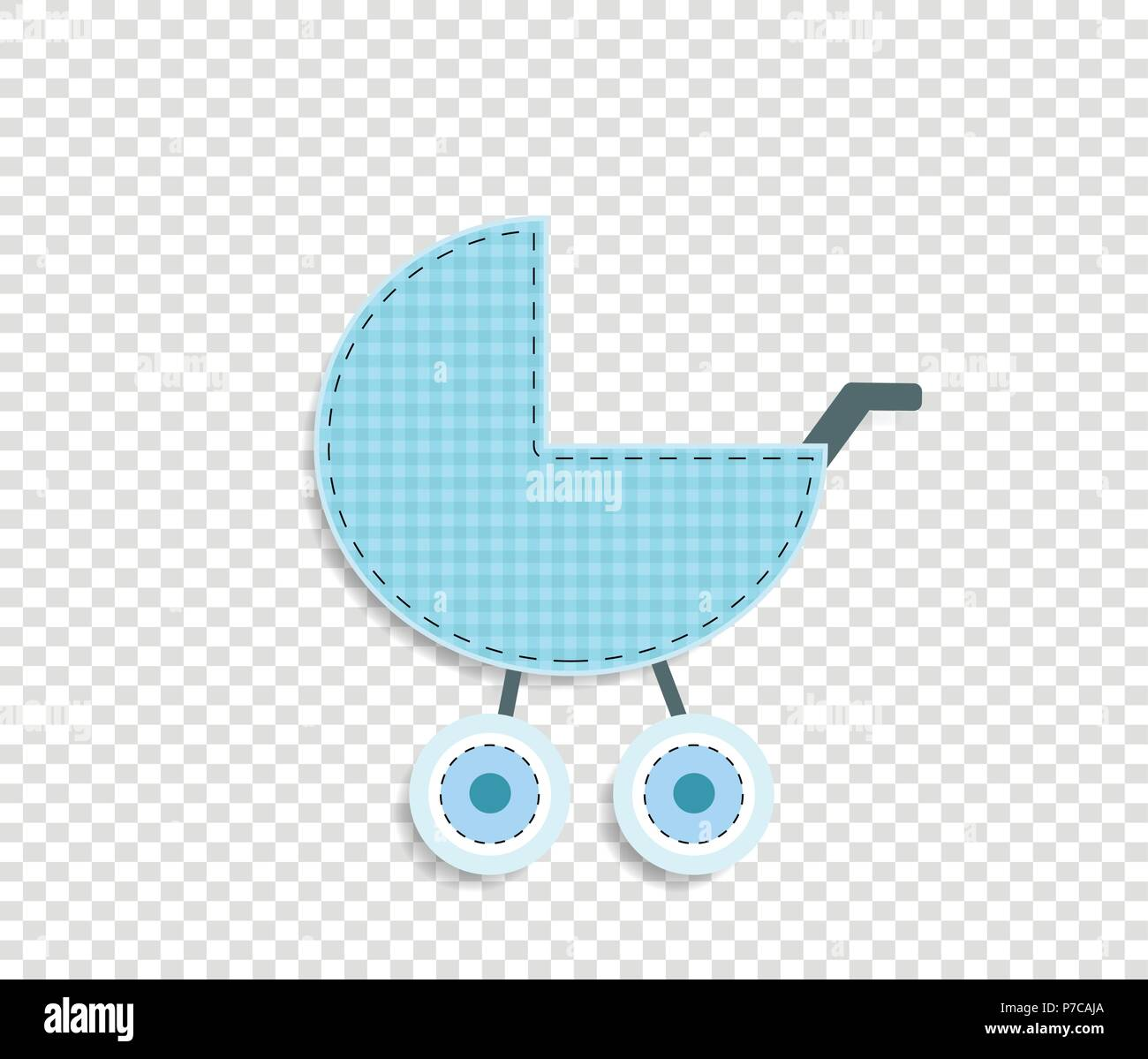 Cute Baby Boy Vector Clip Art Element For Scrapbook Or Baby Shower