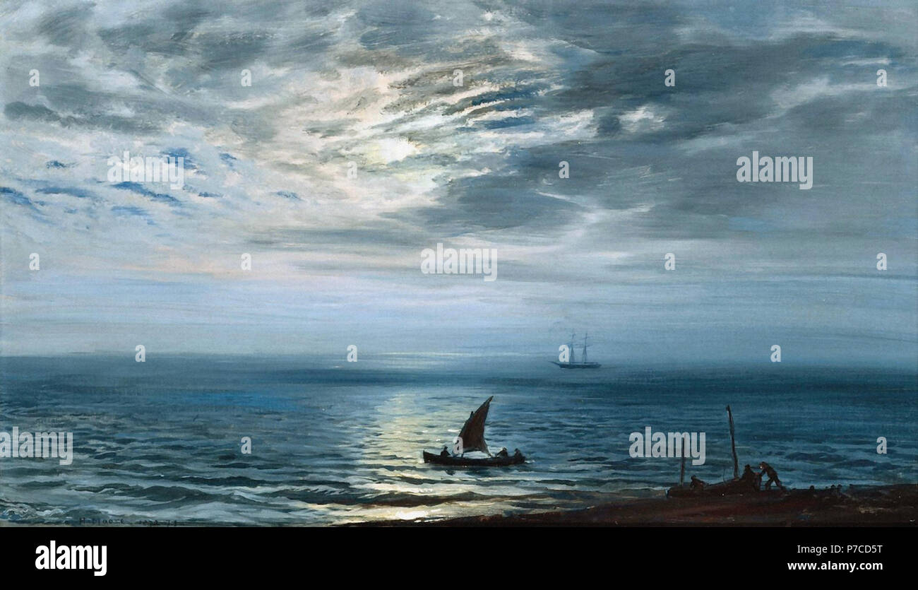 Moore  Henry - Light Airs at Sunset - Stock Image