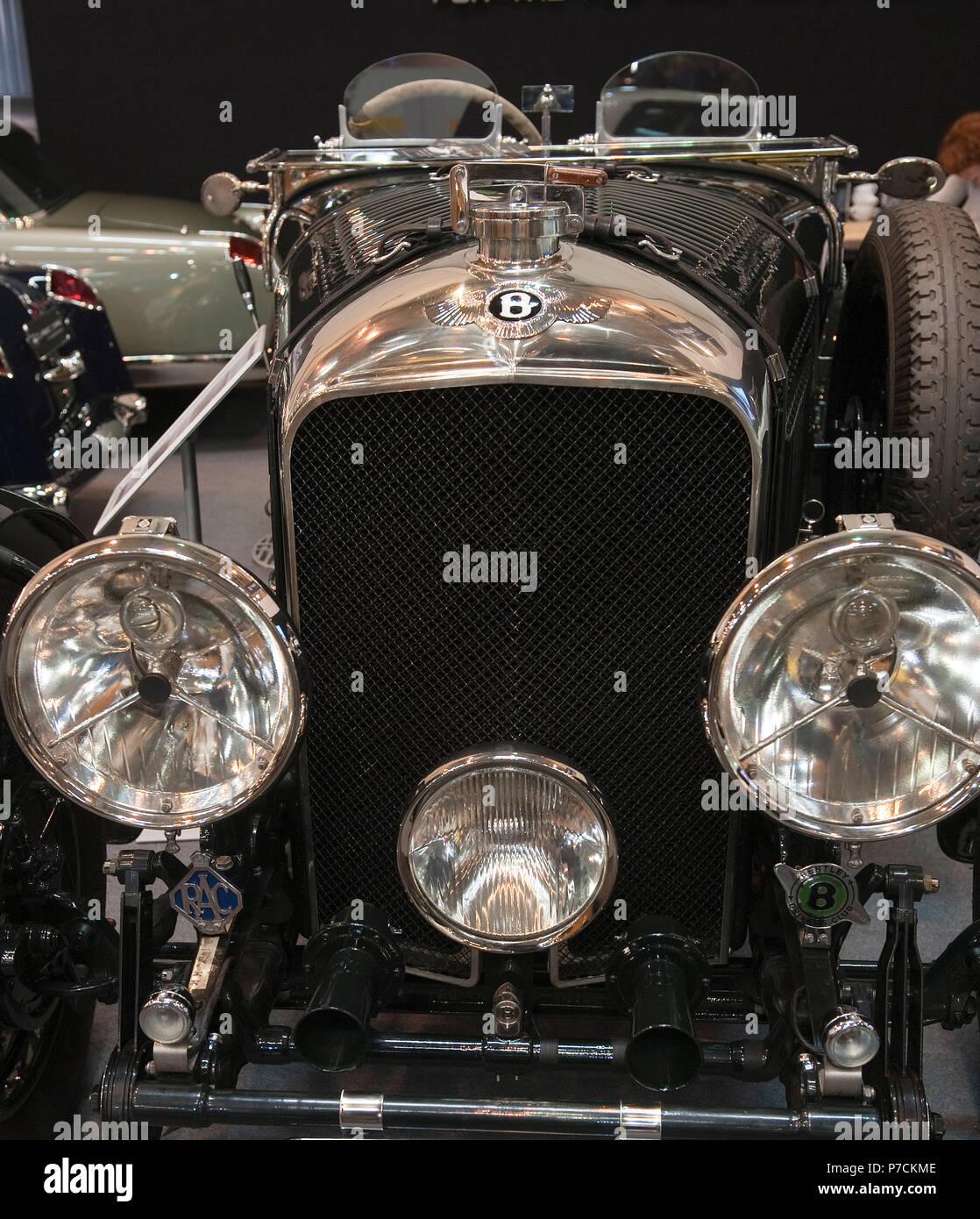 Classic 1936 Bentley 4 Derby Sports Saloon Sedan Saloon: Vanden Plas Stock Photos & Vanden Plas Stock Images