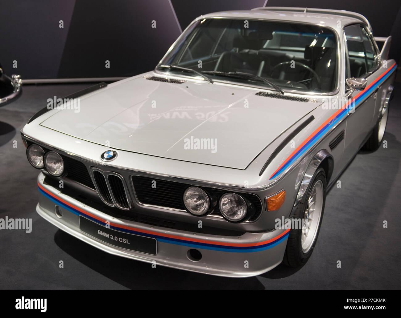 BMW 3.0 CSL - Stock Image