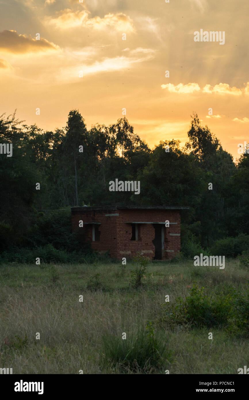 abandon home - Stock Image