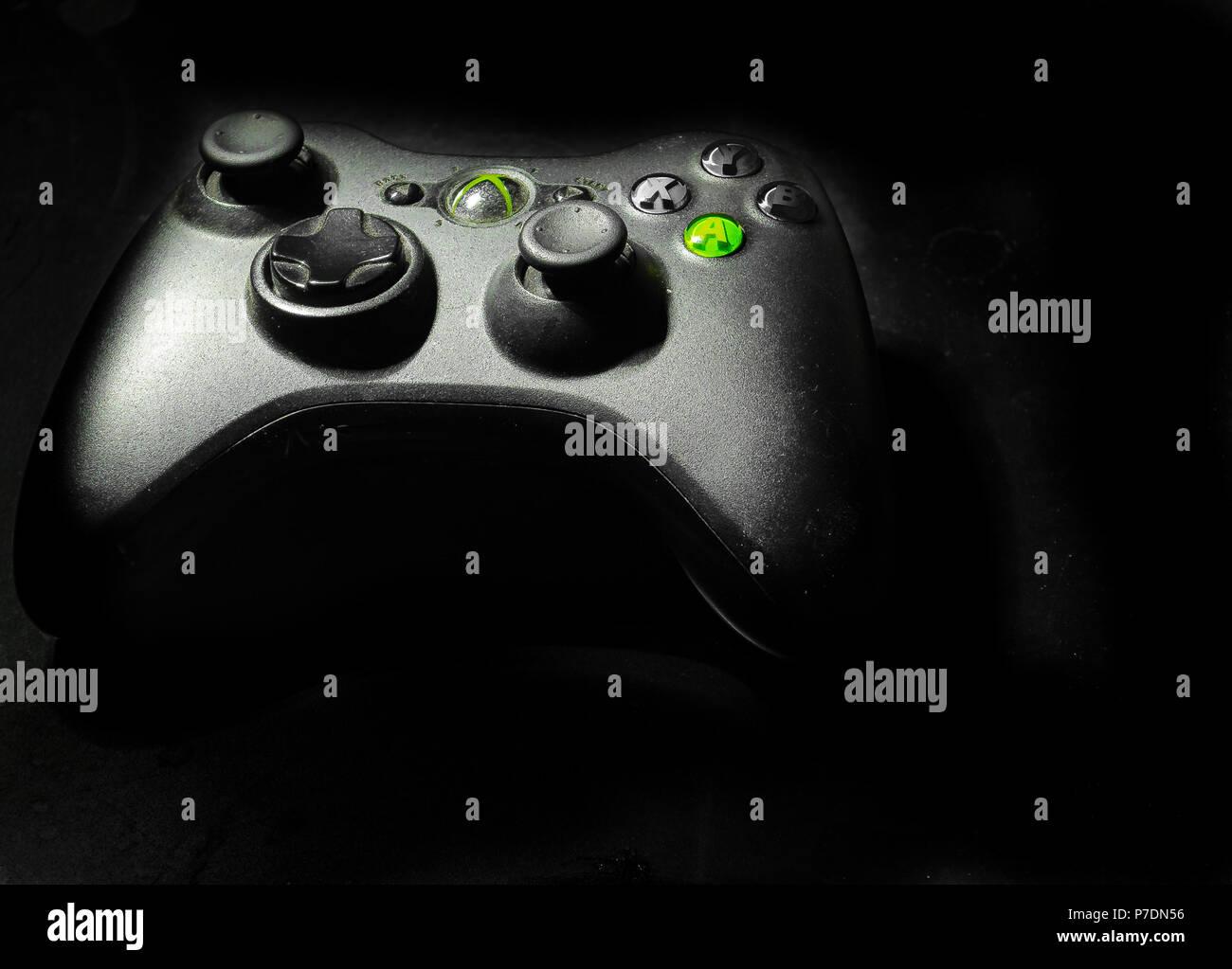 Xbox Joystick - Stock Image