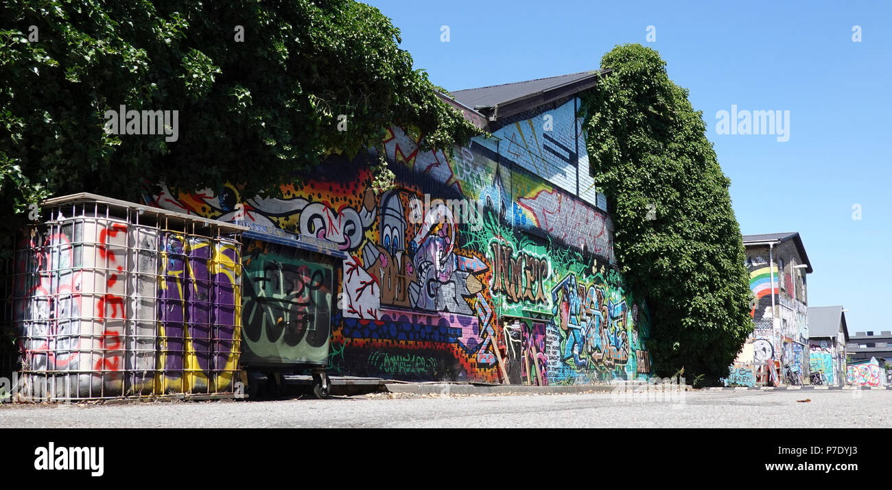 Urban Noerrebro located in Copenhagen, Denmark - Stock Image