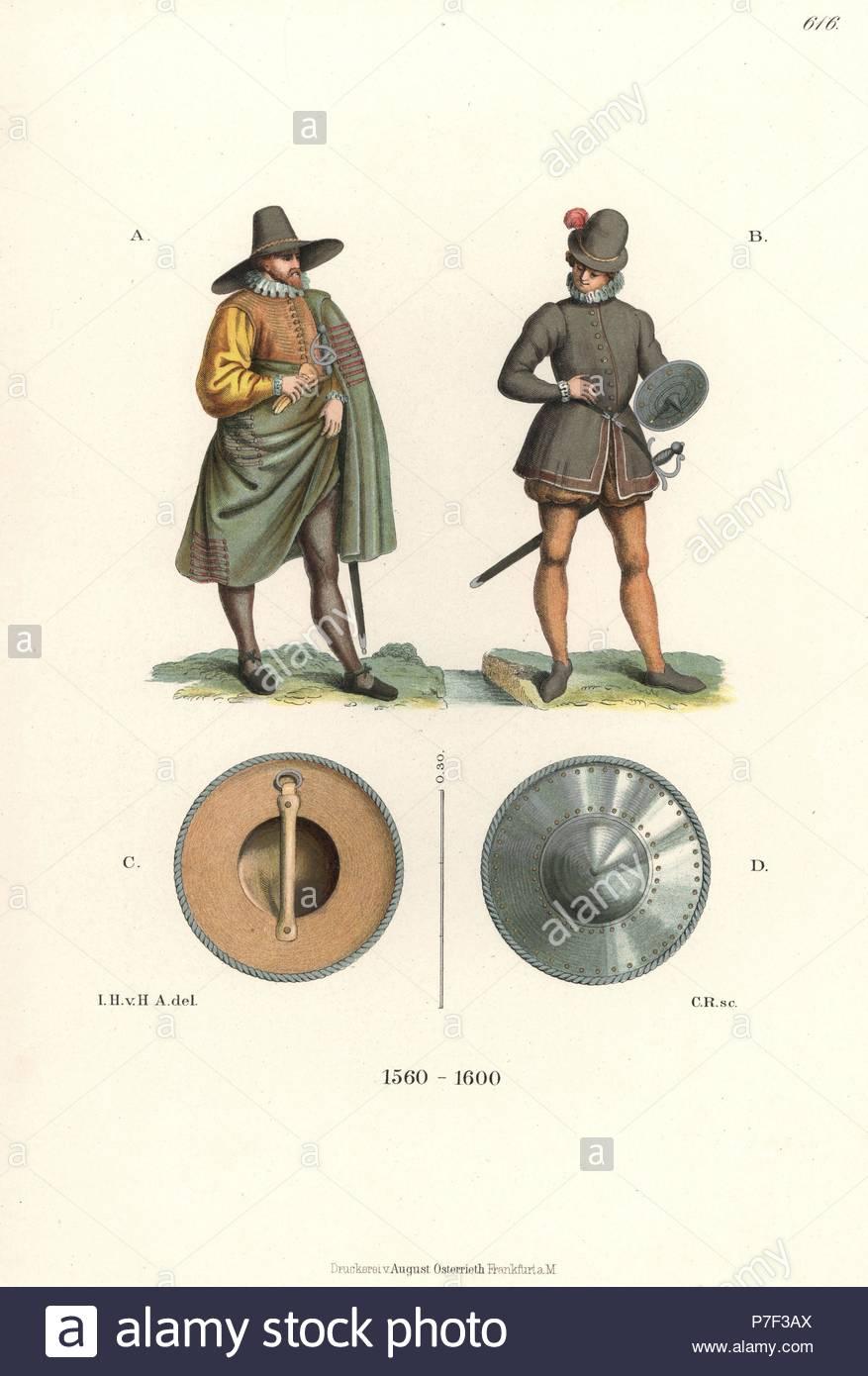 French man in wide-brim hat and cape A 9d0f3f946e3